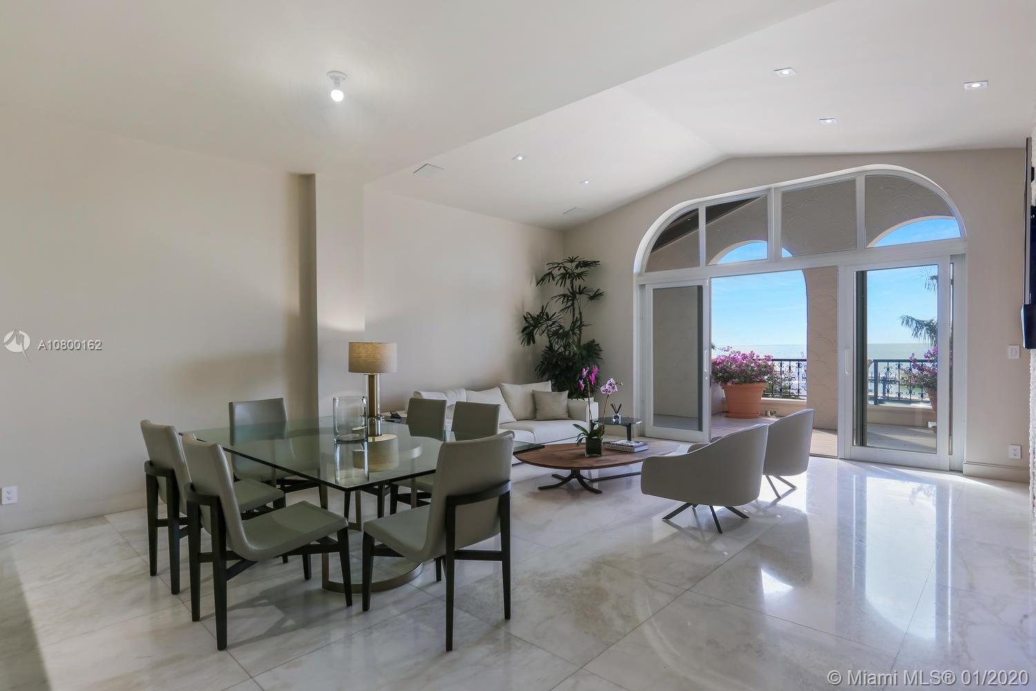 2042  Fisher Island Dr #2042 For Sale A10800162, FL