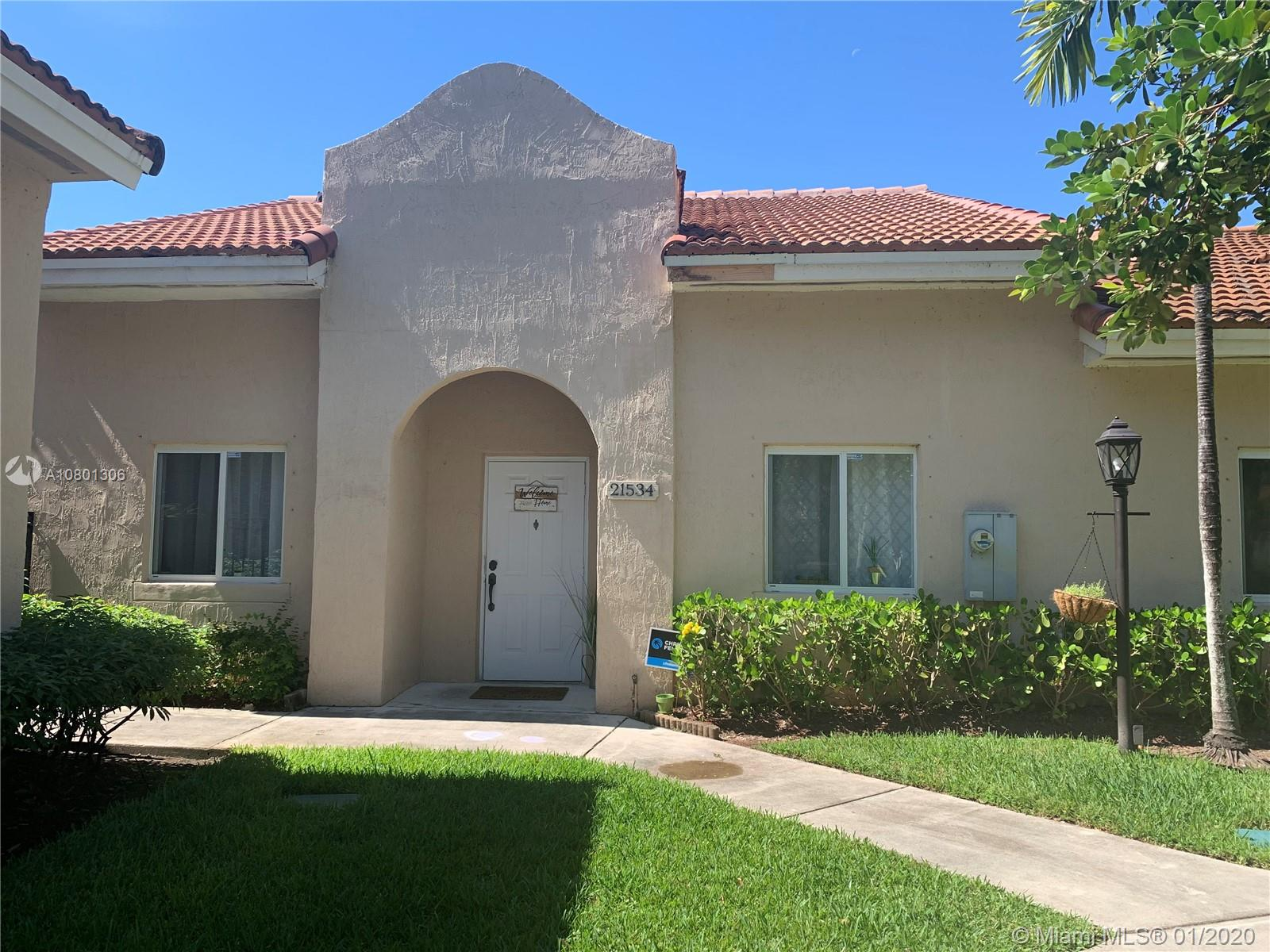 21534 SW 87th Pl  For Sale A10801306, FL