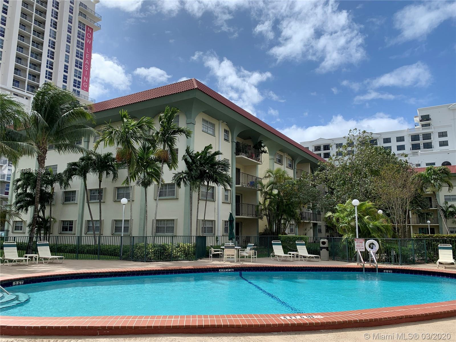 """Finance with LOW DOWNPAYMENT. Come see this spacious 2 bed/2 bath condo in the centrally located Granada Dadeland Condominiums. This 1st floor unit has a great floorplan with a large living/dining area, as well as large bedrooms and closets. This community is surrounded by luxury condo buildings and is within 2 short blocks from Dadeland Mall. Being so close to Snapper Creek Exwy (878), Palmetto Exwy (826), N. Kendall Drive, and US-1, will make commuting a breeze. In addition, this home is within walking distance to the Dadeland North Metrorail Station for fast, easy and convenient access to Downtown Miami, Coconut Grove, Coral Gables, South Miami and Miami International Airport. **The floor is polished concrete for that """"industrial look"""", OR ready for new flooring based on buyer's choice."""