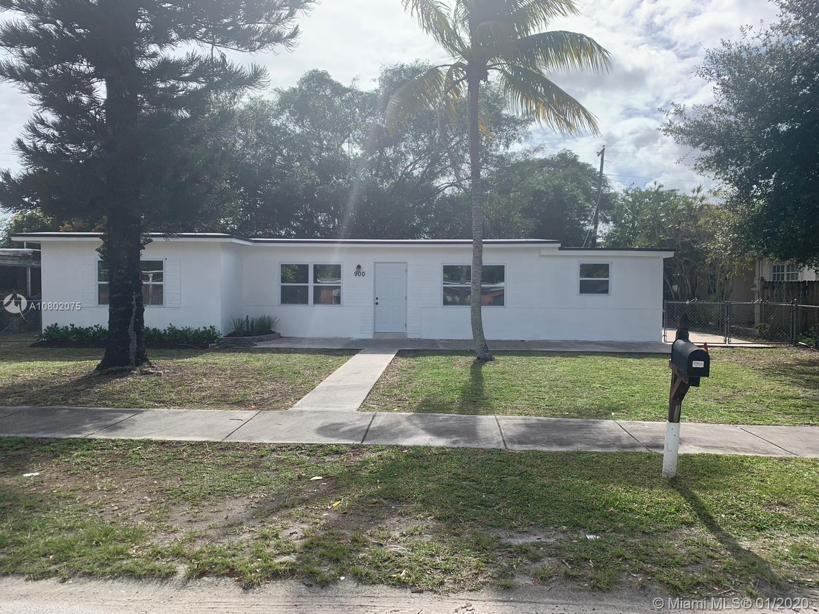 900 NW 140th St  For Sale A10802075, FL