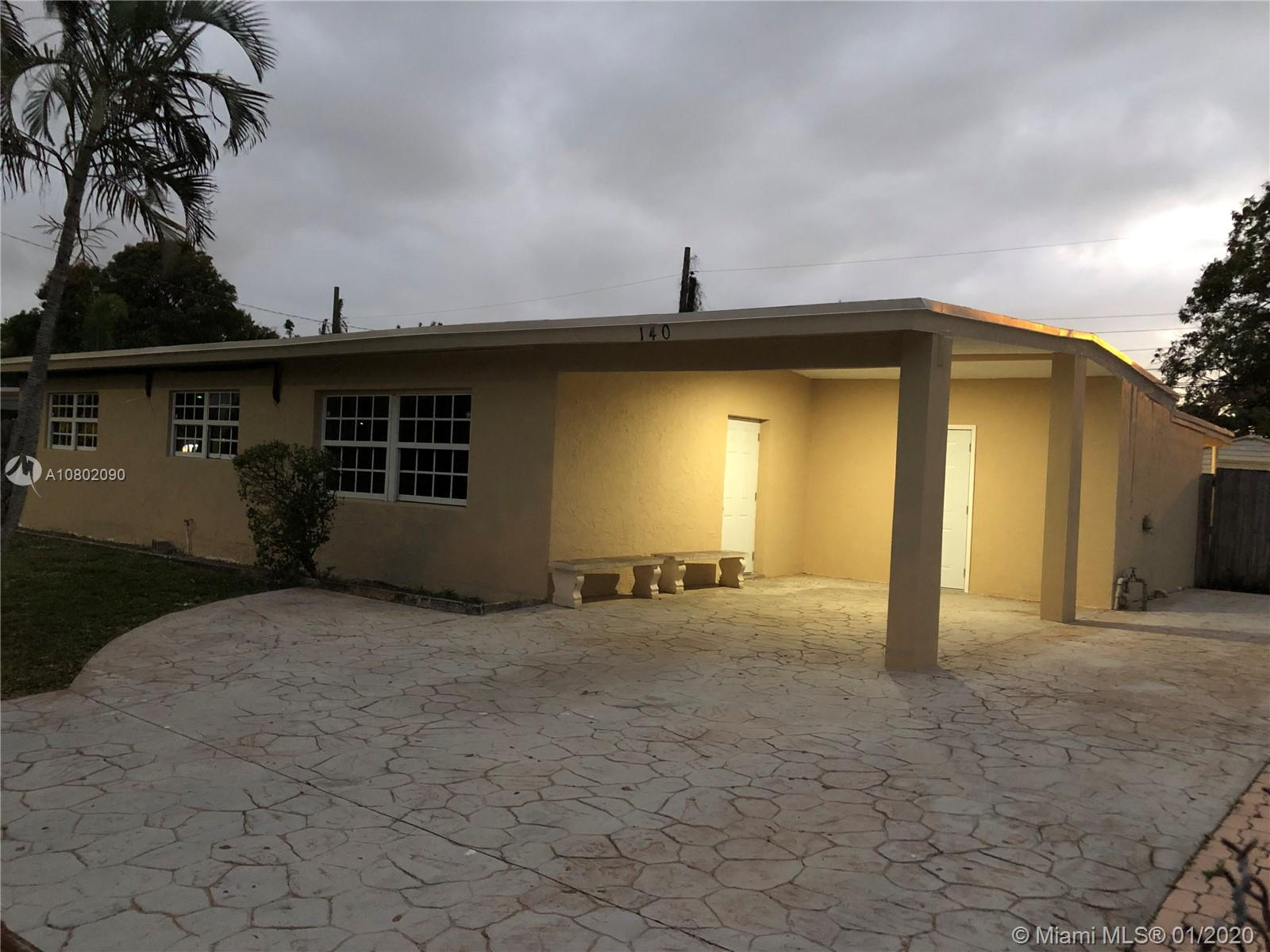 Renovated home near everything in Broward Estates, includes three bedrooms and two full baths.  A huge master bedroom that is simply the size of two rooms in one. Perfect for home office or living space inside your bedroom. This beautiful home come with a brand new, super quiet, cost effective multi state wall AC units to keep your home cool. Brand new vinyl floors in living area and great looking tiles through the rest of the home. Both bathrooms were redone with some new piping. Large backyard for everyone in the family with a storage shed, a workshop and laundry area. For the people that has more than two cars, YES there is space to more than 5 cars. Must see to appreciate.