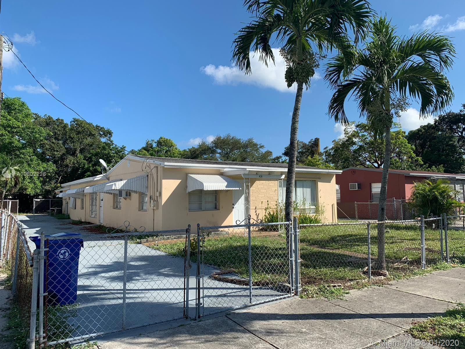 436 NW 22nd Ave  For Sale A10802226, FL