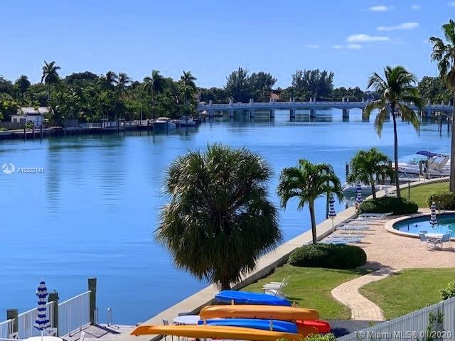 SPECTACULAR WATER VIEWS FROM EVERY ROOM! This VERY CHARMING QUIET 2/2 OVERLOOKING INDIAN CREEK HAS IT ALL! 1728 Sqft of Living area in AMAZING CONDITION, Walking Closets, Renovated Bathrooms, Electric Hurricane Shutters!