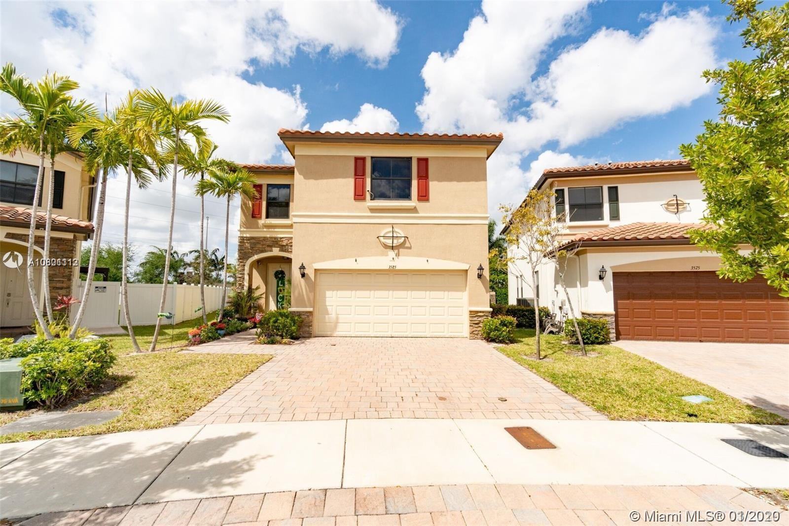 BEAUTIFUL STERLING MODEL AT ARAGON COMMUNITY, 4-BEDROOM 3-BATHS AND 1/2 BATH, 2 CAR GARAGE, LIVING AND DINNING AREAS, BIG BEAUTIFUL KITCHEN WITH GRANITE COUNTER TOPS AND IT HAS GREAT AMENITIES! THIS HOUSE HAS A HUGE BACK YARD