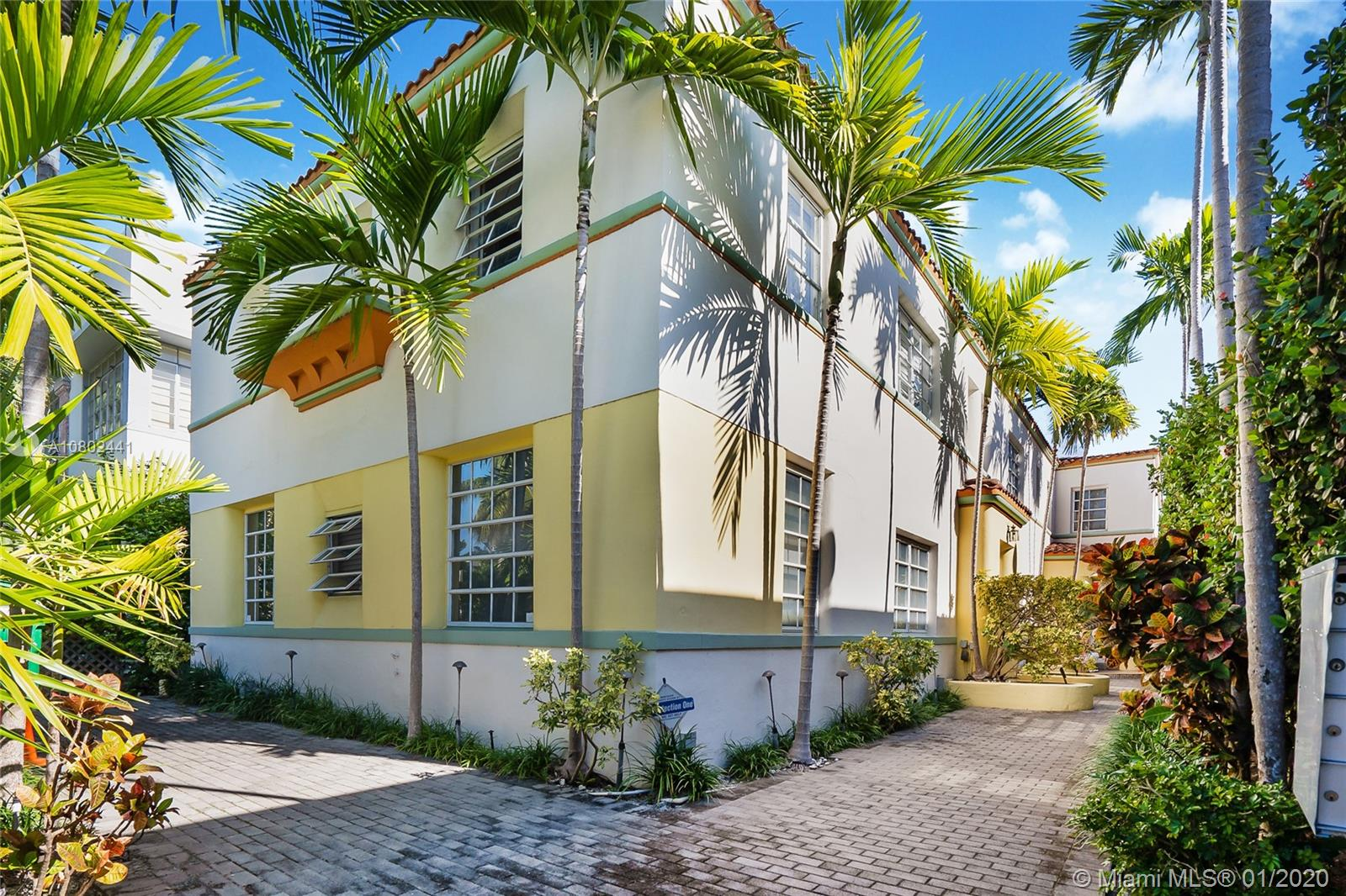 1605  Euclid Ave #B1 For Sale A10802441, FL