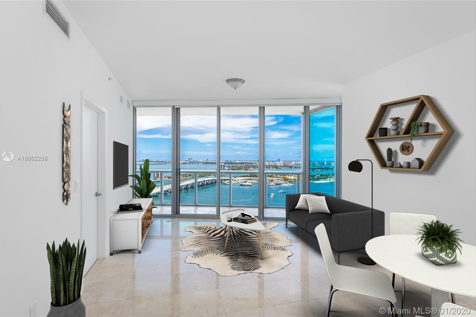 888  Biscayne Blvd #3609 For Sale A10802268, FL