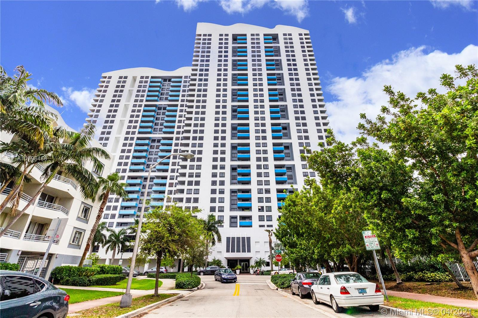 Waverly South Beach. Two bedroom, split plan, high floor unit with large balcony, gorgeous city and partial bay views, beautiful marble floors throughout, full size washer and dryer. Best waterfront location,3 blocks from exciting Lincoln Road,easy walk to beach. Full service luxury building, heated lagoon style pool, Jacuzzi, sand volley, 24/7 front desk, security, valet, gym, BBQ, tennis. Premium cable, high speed Internet included in rent. One space and valet. Unit is rented through Dec 2021.
