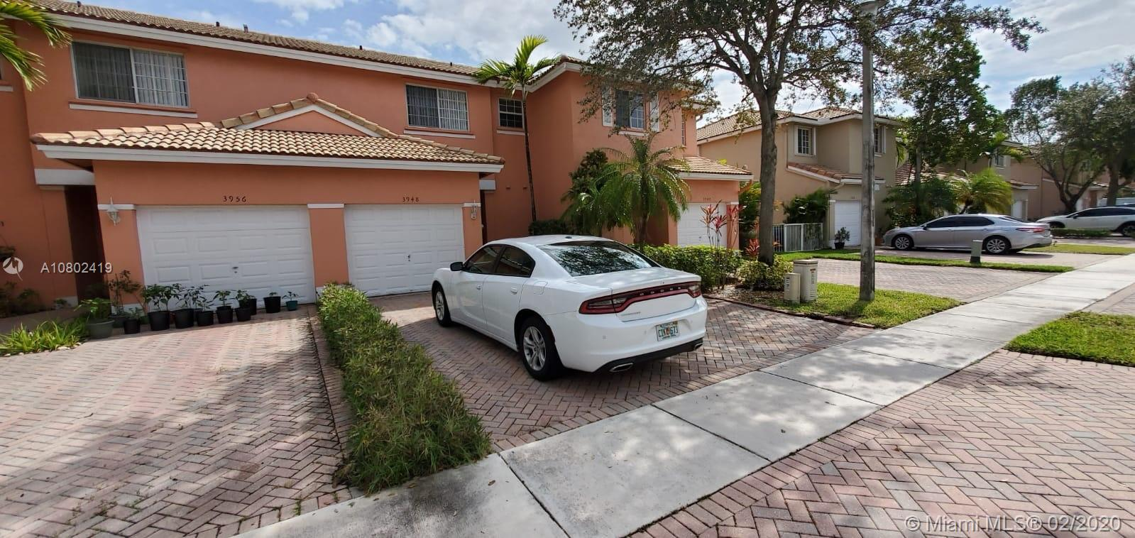 3948 NW 92nd Ave #3948 For Sale A10802419, FL