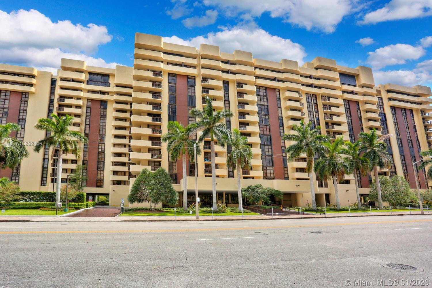 600  Biltmore Way #604 For Sale A10802406, FL