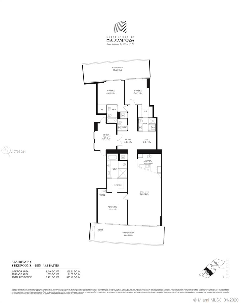 18975  Collins Ave #603 For Sale A10798984, FL