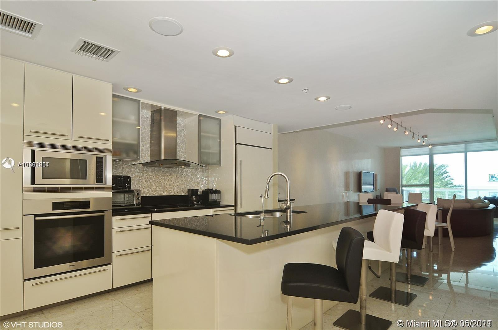 EXCELLENT DEAL *TURN KEY UNIT!! @ the heart of Miami Beach, 3 Beds, 3 Baths, 1661 Sq/Ft (LA by developer's floor plan), 2 Balconies, Private elevator, Private foyer, Exclusive European Miele Appliances, Marble floors, Smart technology System. Come and see this Beautiful unit and enjoy all the amenities offered by Mosaic Building, Fitness center, Business Center, Media Room and a lot more. The unit is located in front of the beach (Just Steps away), Great Location, minutes away from Downtown Miami, Brickell, Bal Harbour, Aventura