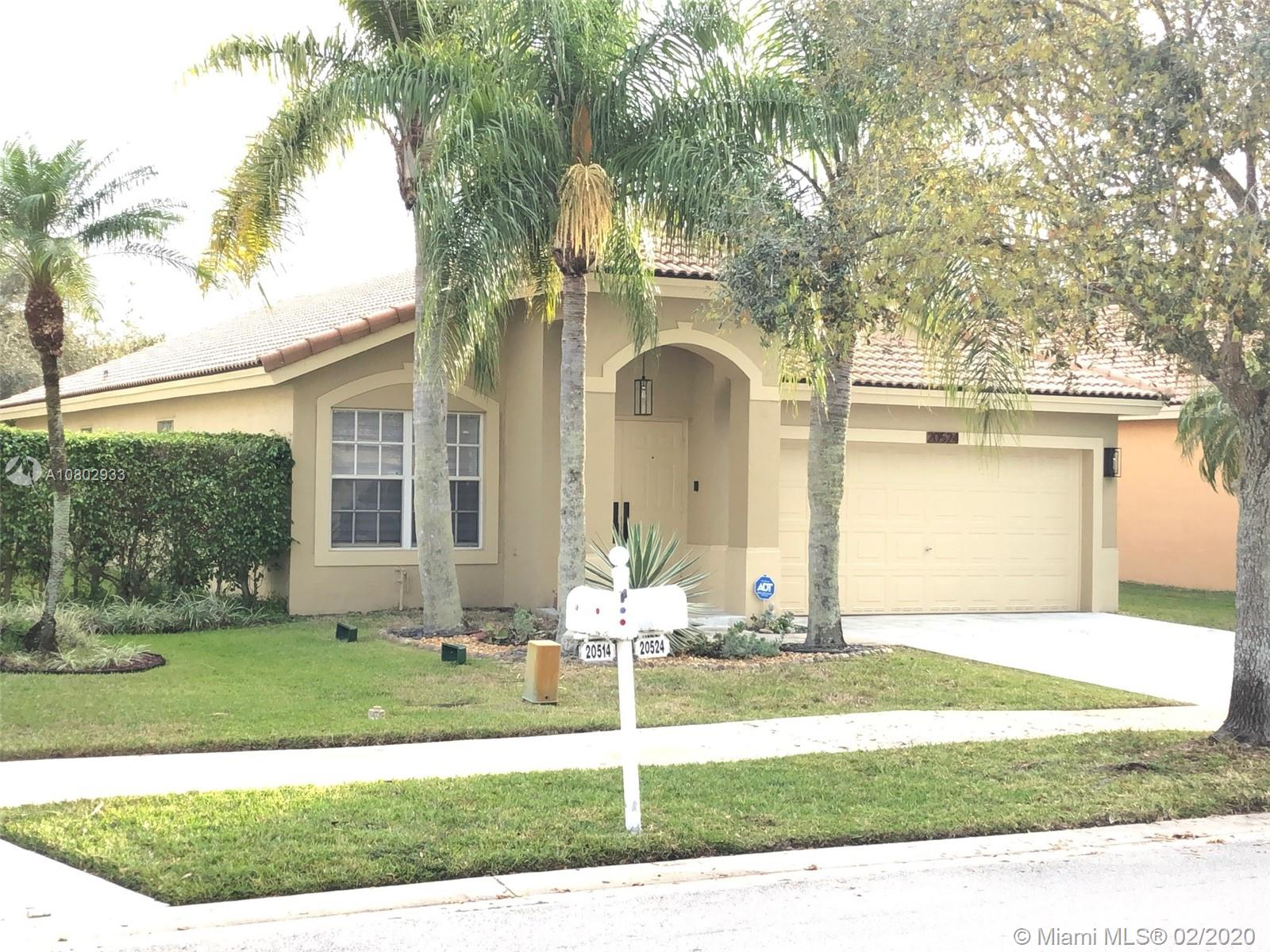 20524 SW 5 st  For Sale A10802933, FL