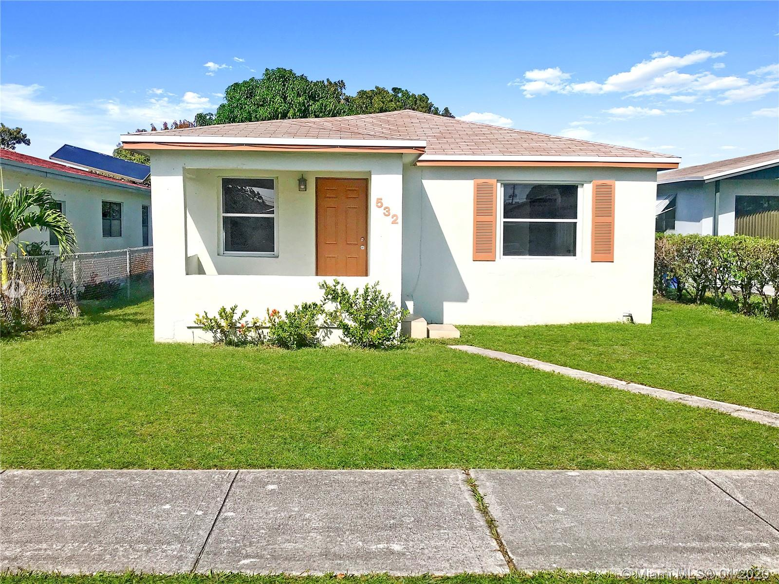 532 NW 3rd Ct  For Sale A10803118, FL
