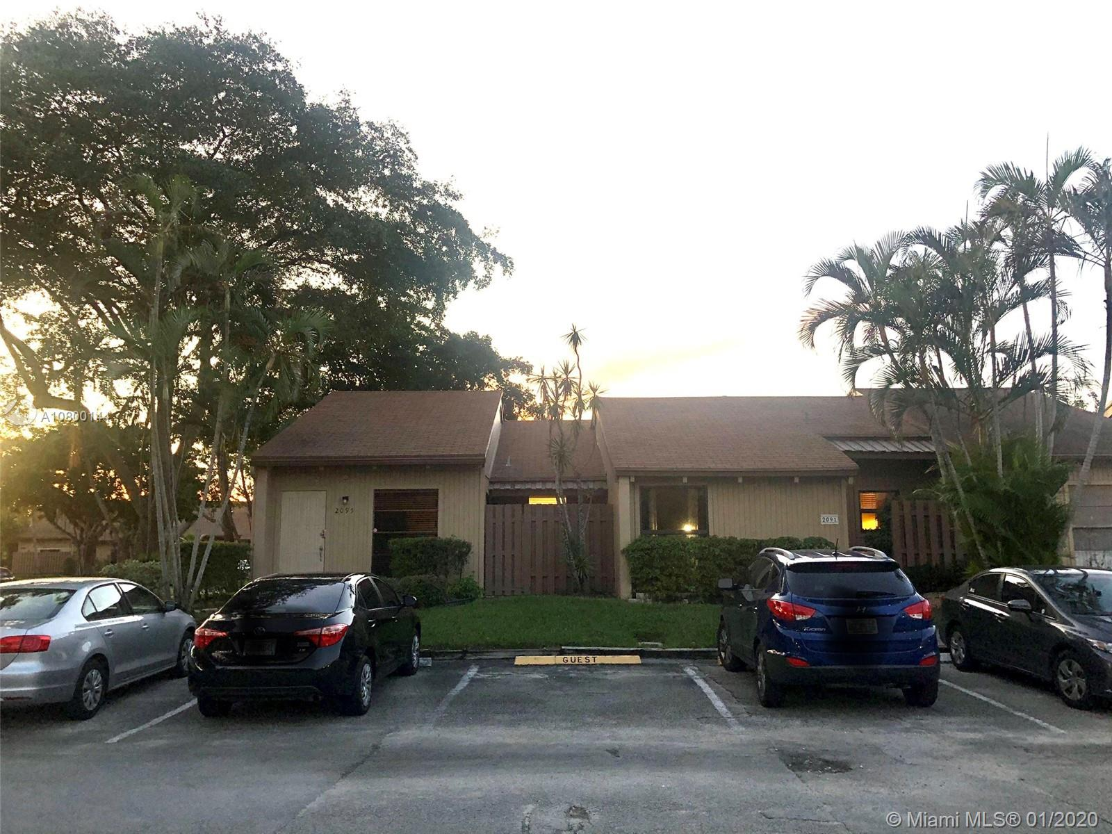 2095 SW 81st Way #2095 For Sale A10800144, FL