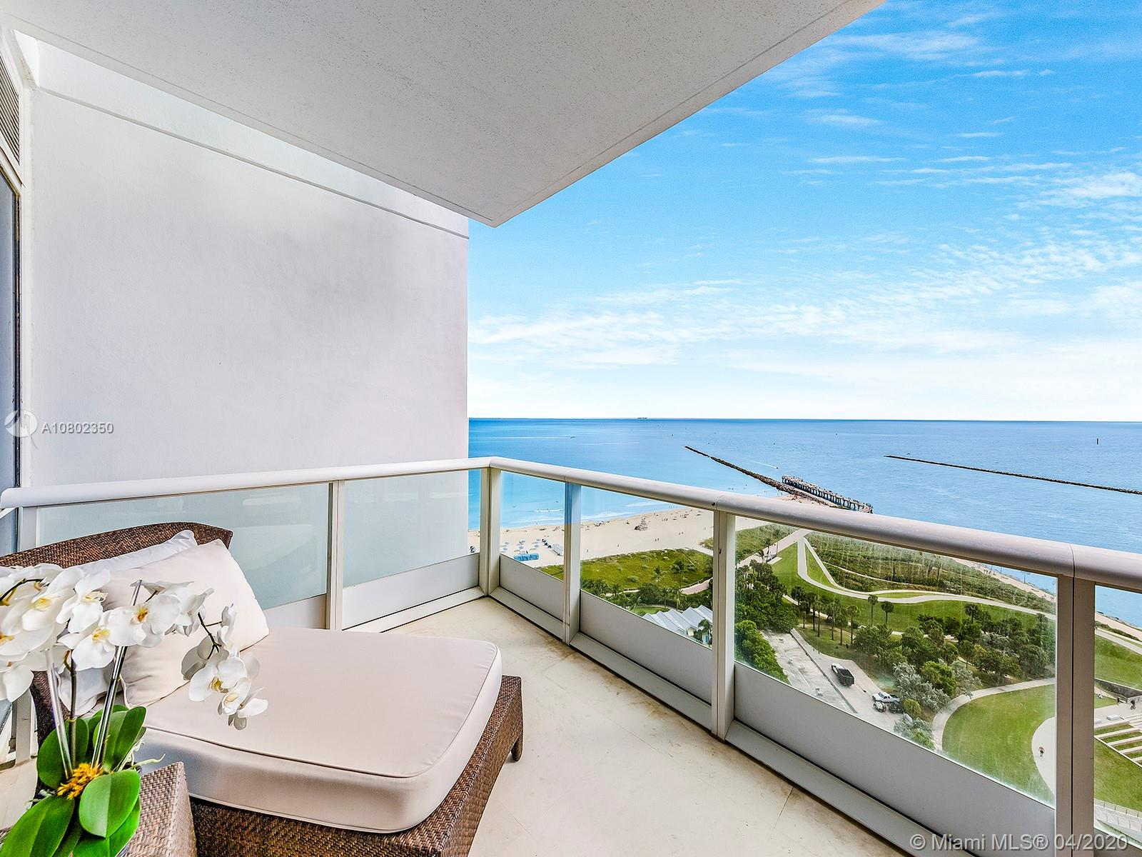 100 S Pointe Dr #2105 For Sale A10802350, FL