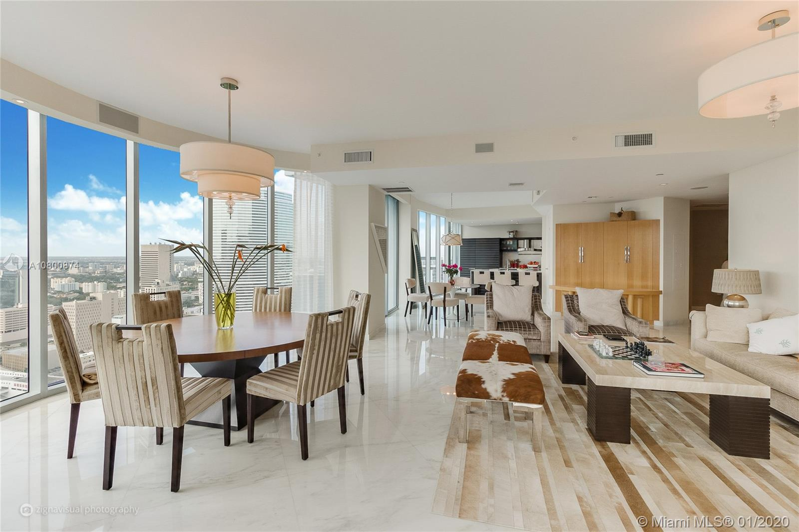 200  Biscayne Boulevard Way #4502 For Sale A10800874, FL