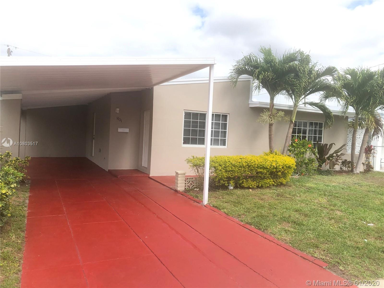 801 NW 84th St  For Sale A10803517, FL