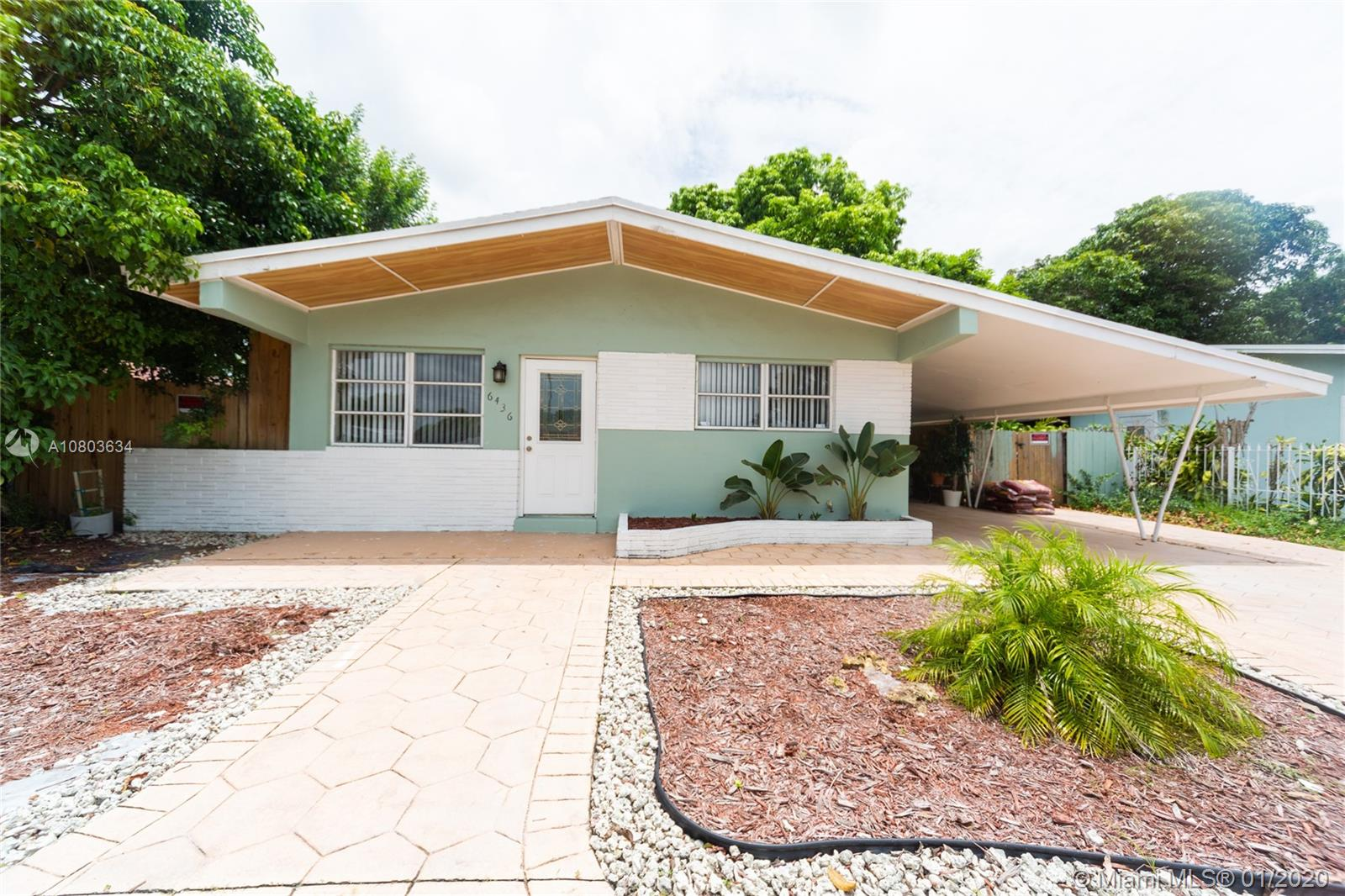 6436 SW 20th St  For Sale A10803634, FL