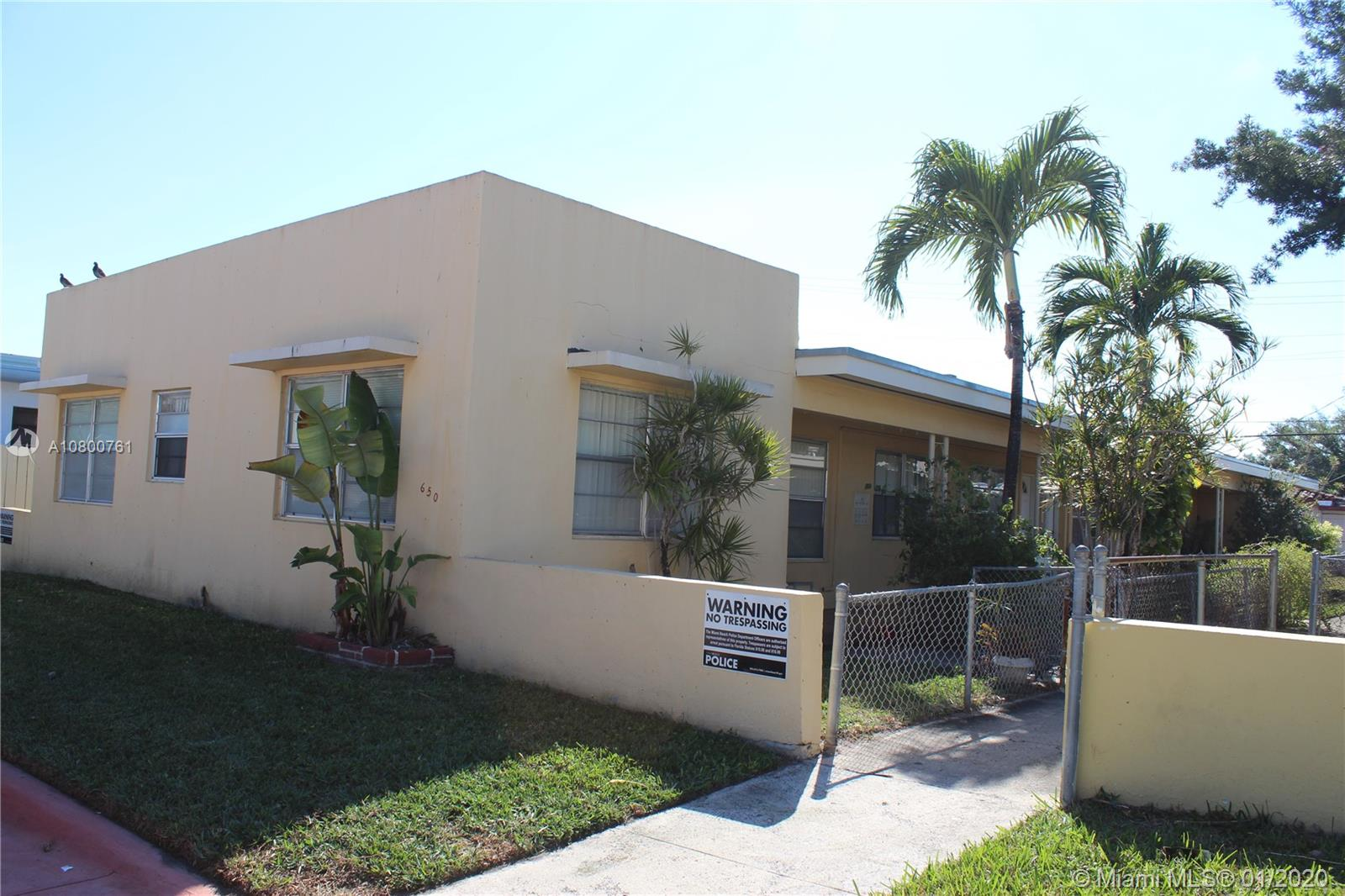 650  83rd St  For Sale A10800761, FL