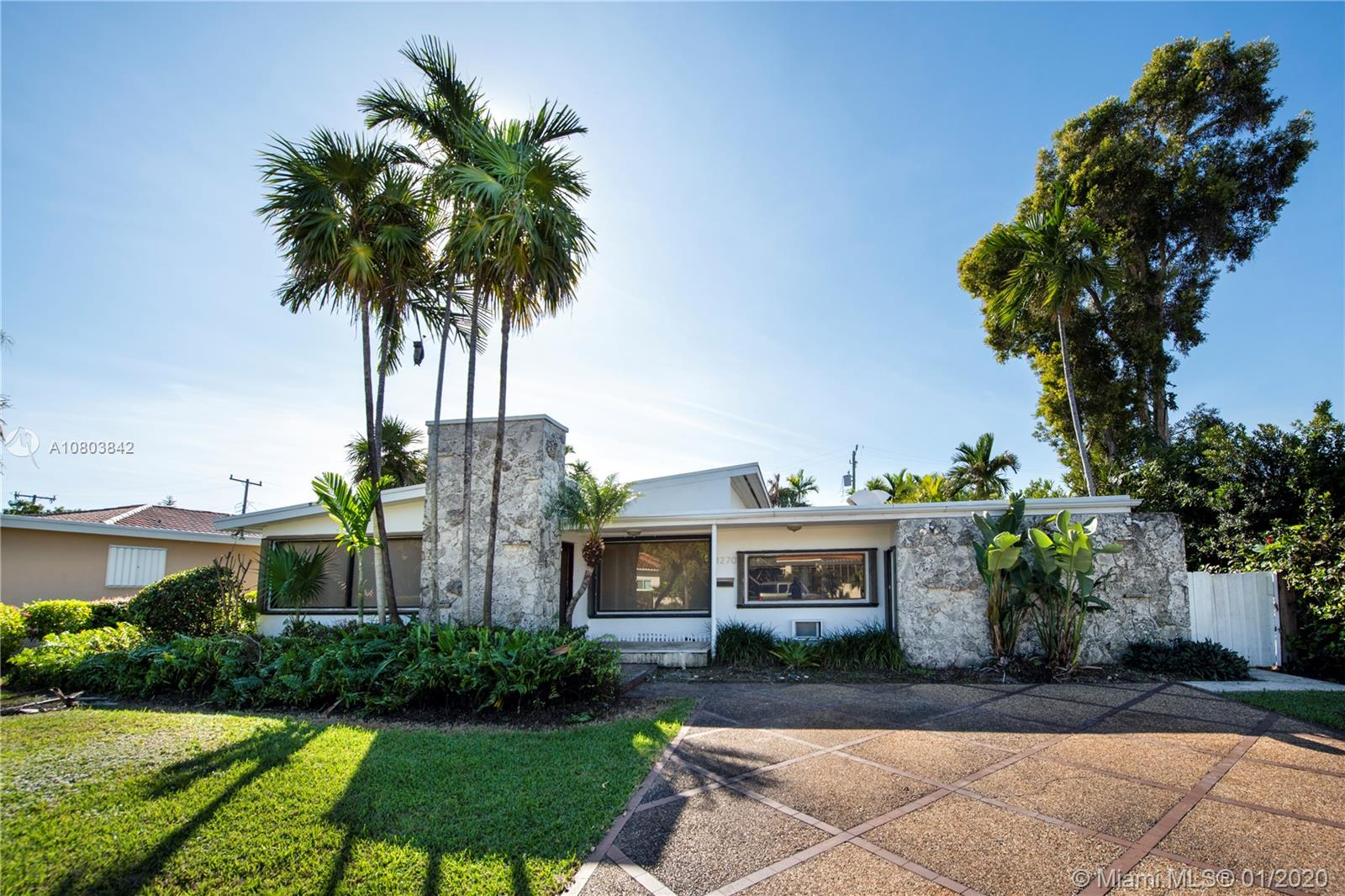 Big and spacious home located on wide 102nd Street at Bay Harbor Islands features 5 bedrooms and 4 baths. This great home has marble floors, kitchen with granite countertops, stainless steel appliances and washer and dryer. Lots of natural light in the living and dining room. Pool at the backyard and lots of space to entertain and play. Quite neighborhood with A+ school. Close to the beaches and Bal Harbour Shops. Call listing agent for showing and more details.