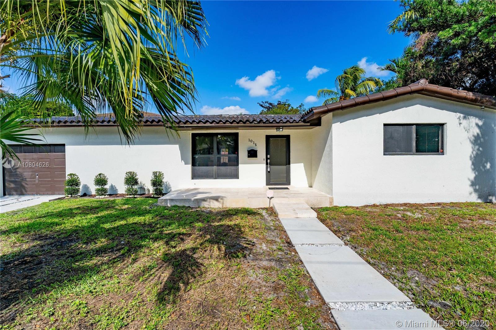 1015 NE 89th St  For Sale A10804626, FL
