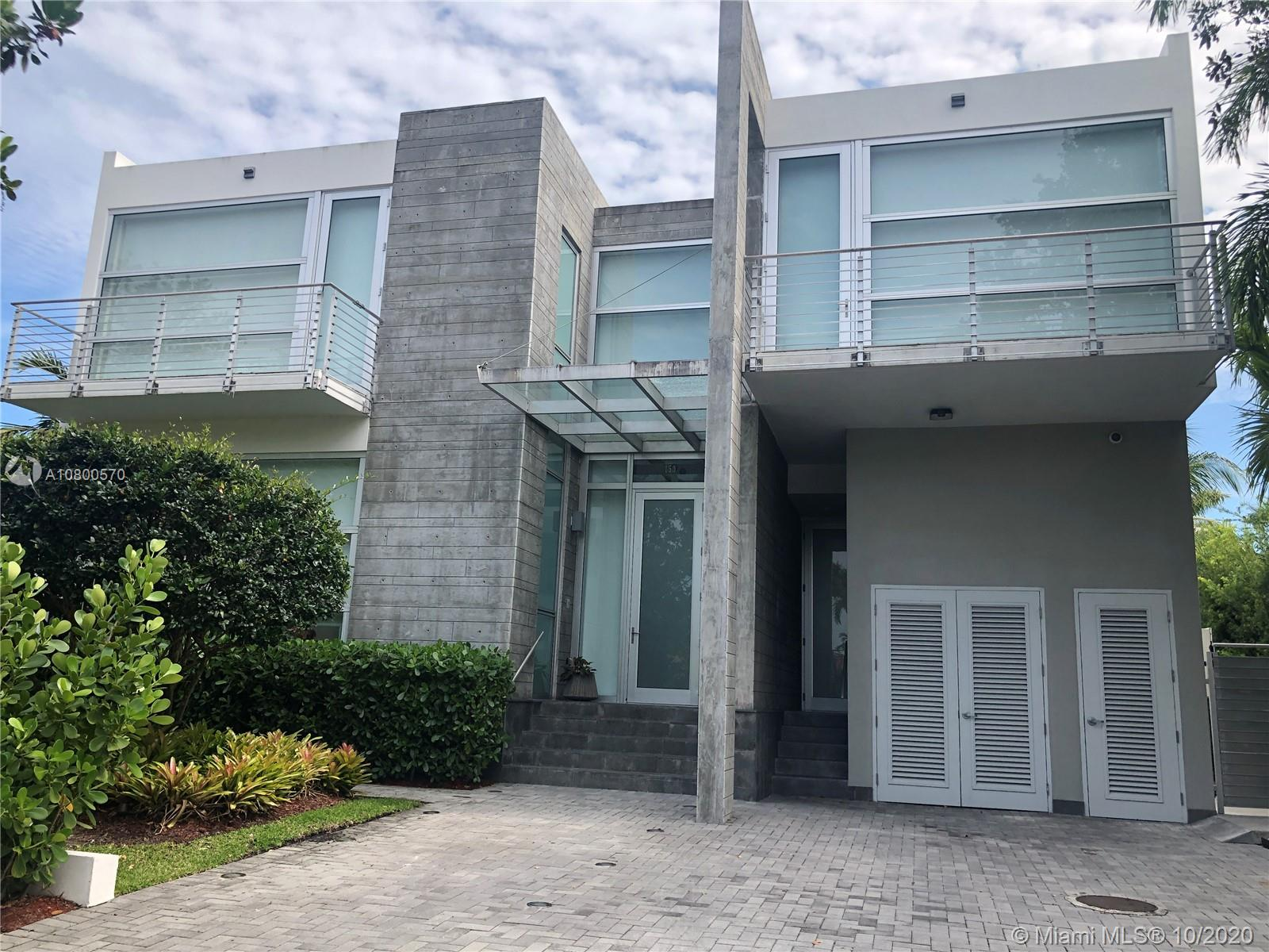 This beautiful contemporary 5/5.1 house in one of the best streets of KB features floor-to-ceiling impact windows with automated shades and blackouts. Marble and wood flooring, Mia Cuccina kitchen with top of the line appliances, German bathroom fixtures, Toto automated toilets and camera system. The covered terrace/BBQ area overlooks the waterfall/hot tub & pool surrounded by a lighted & sprinklered landscaping. A must see!