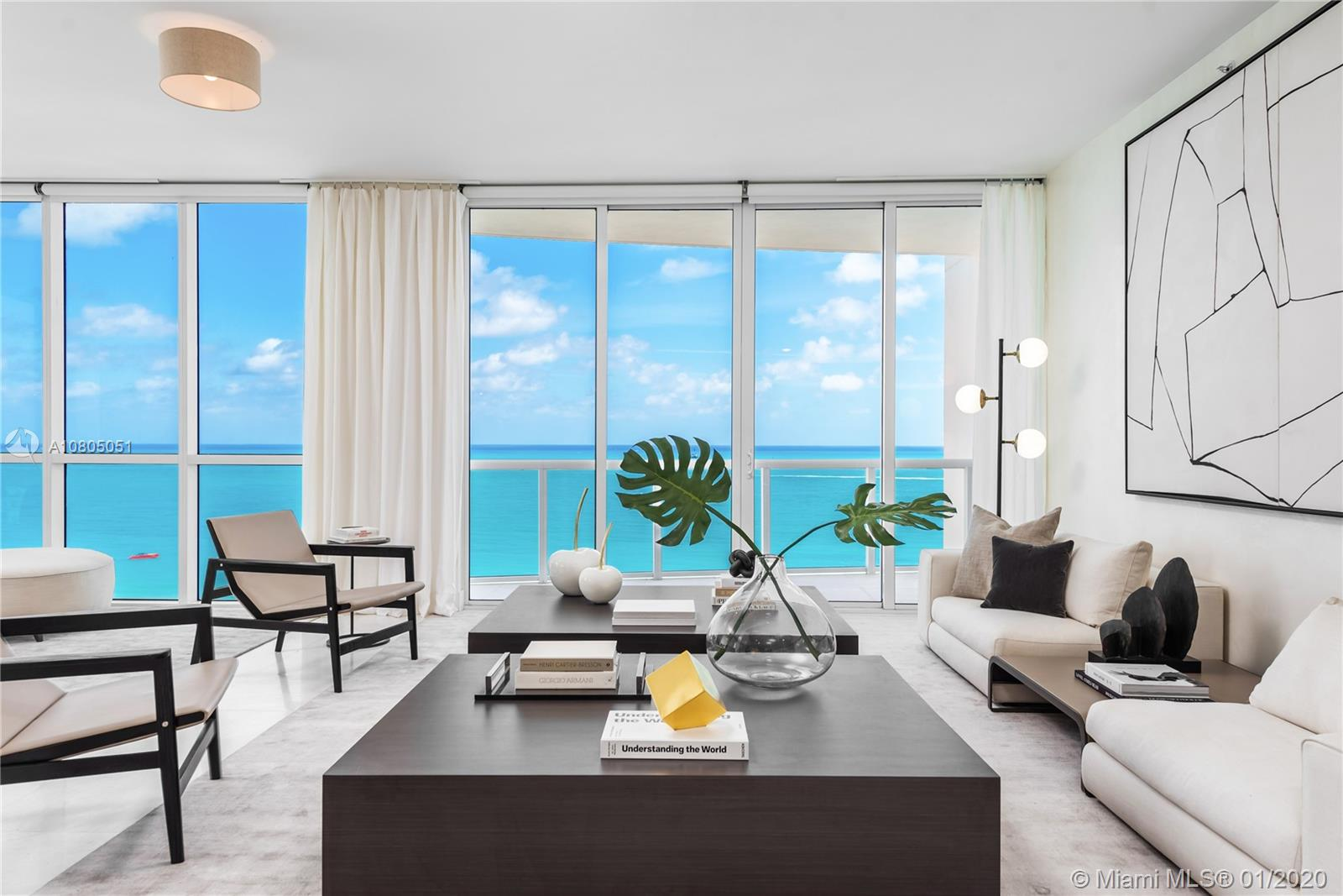 50 S Pointe Dr #1801 For Sale A10805051, FL