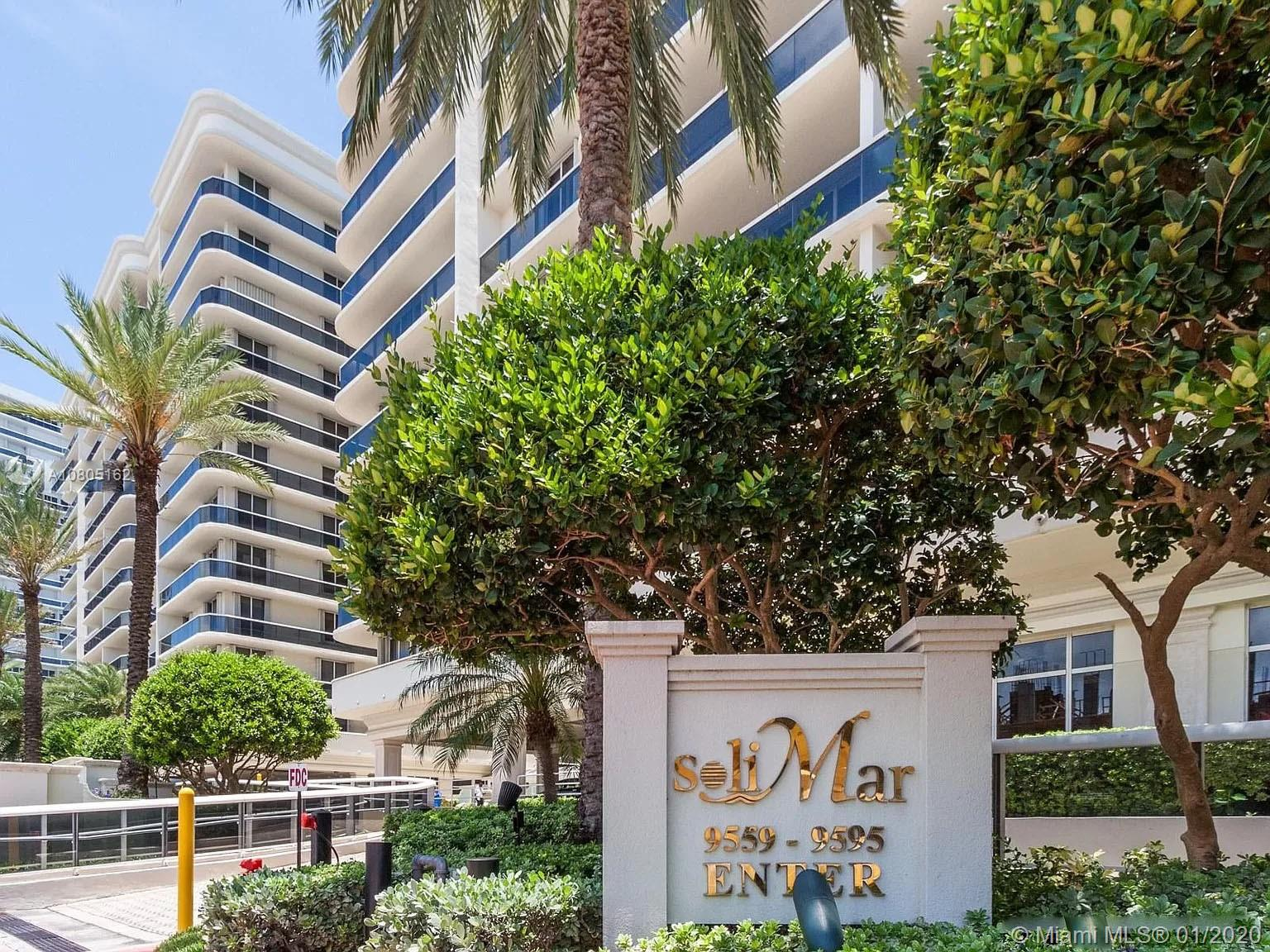 9595  Collins Ave #N8-F For Sale A10805162, FL