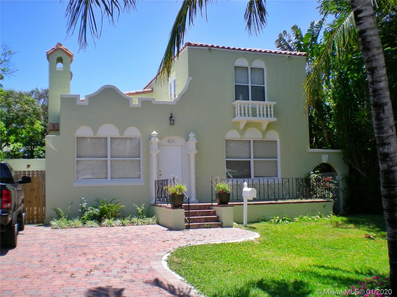 420 W 30th St  For Sale A10805112, FL