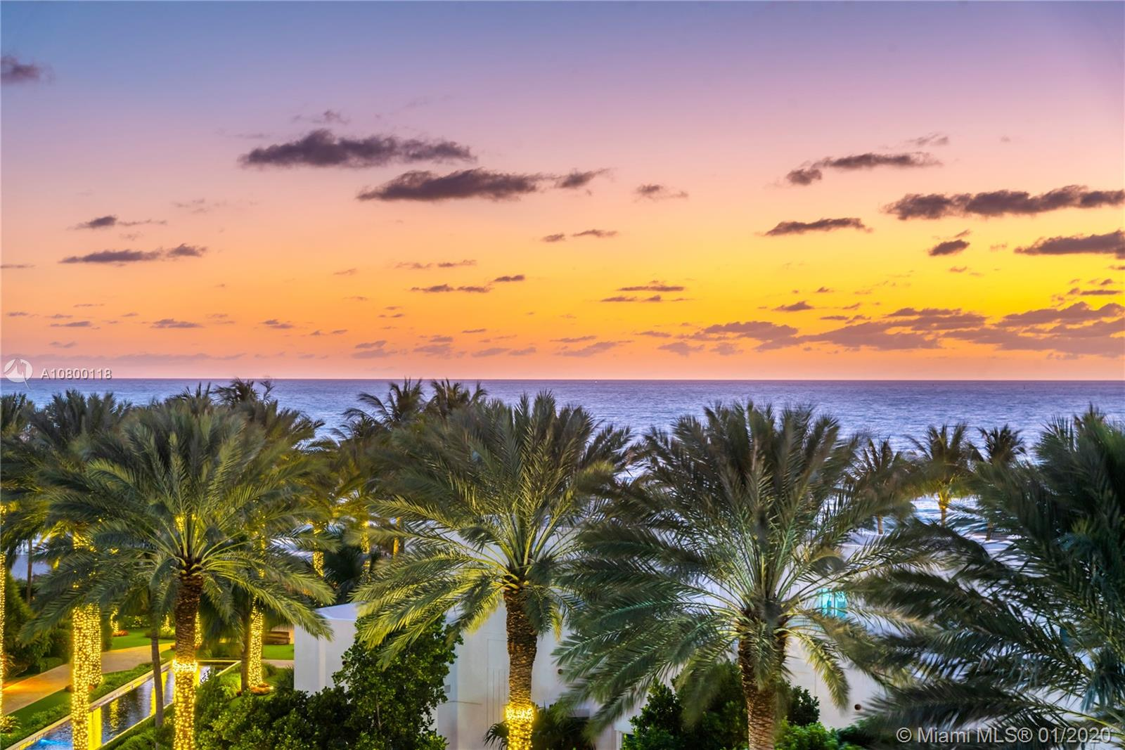100 S Pointe Dr #610 For Sale A10800118, FL
