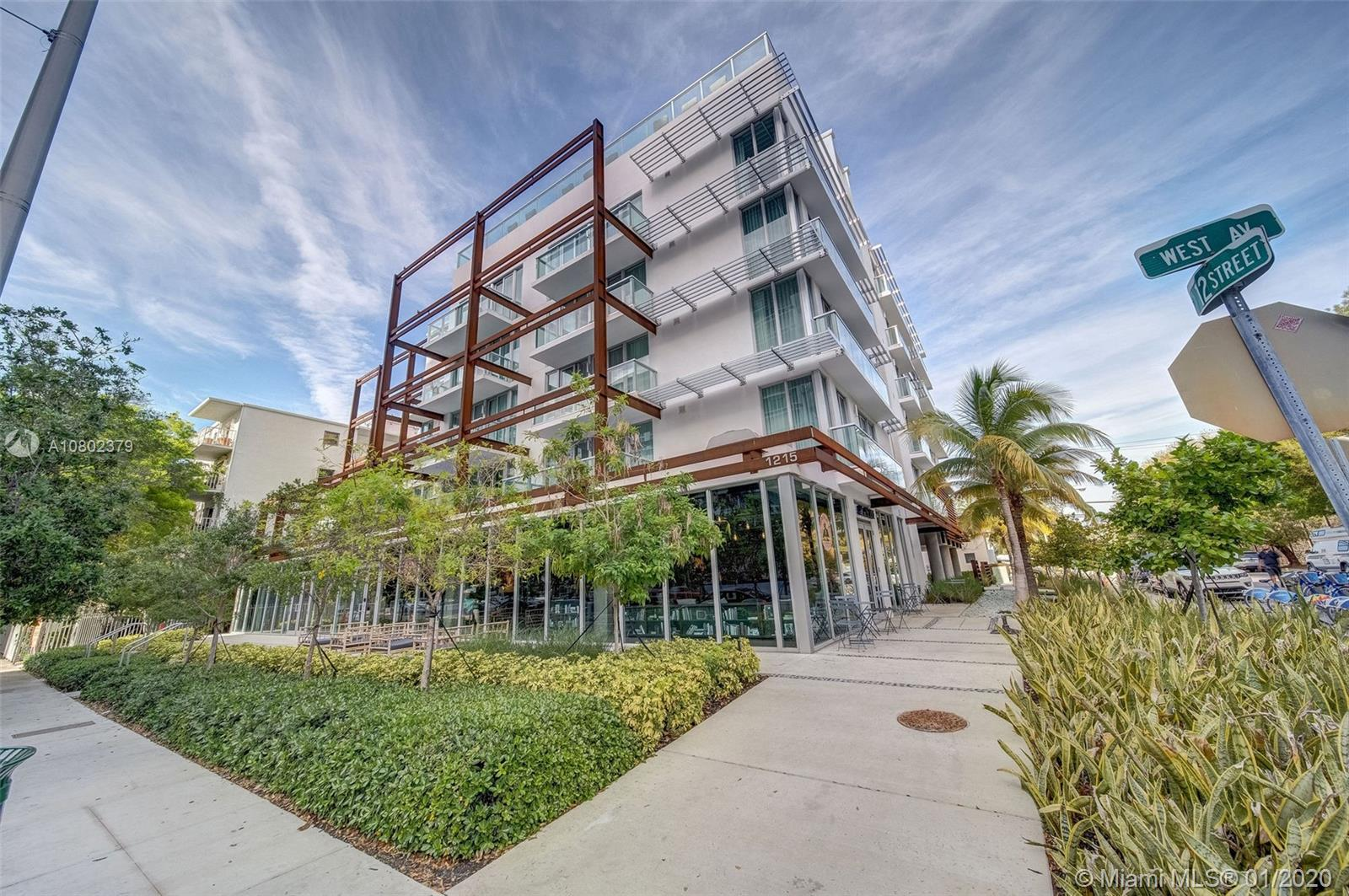 1215  West Ave #PH605 For Sale A10802379, FL