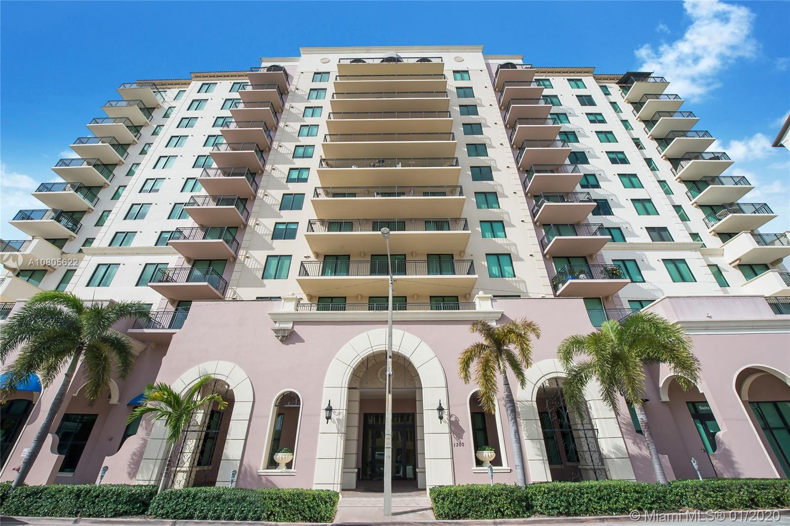 1300  Ponce De Leon Blvd #1100 For Sale A10805622, FL