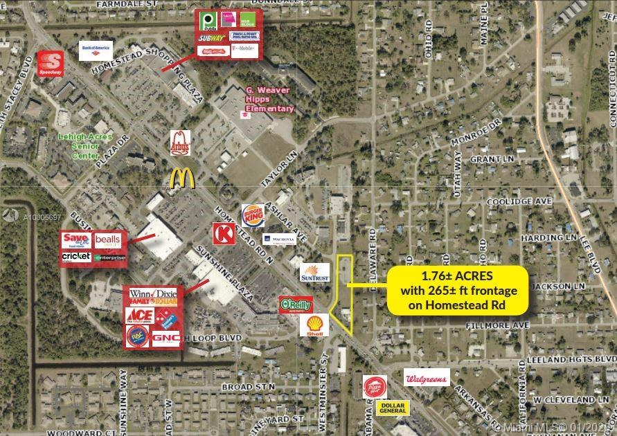 1100 N Homestead Road Rd. & 1102 Ashlar Ave., Other City - In The State Of Florida, FL 33936