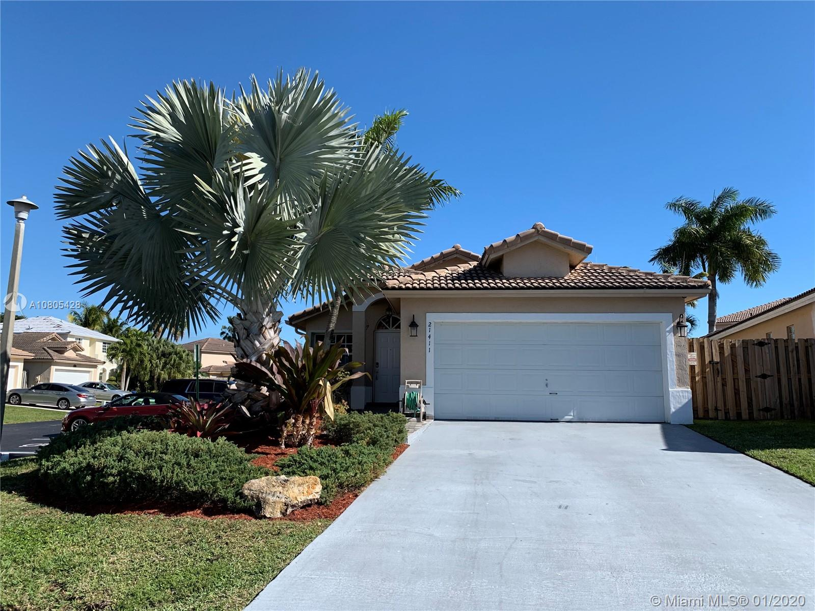 21411 SW 88th Ave  For Sale A10805428, FL