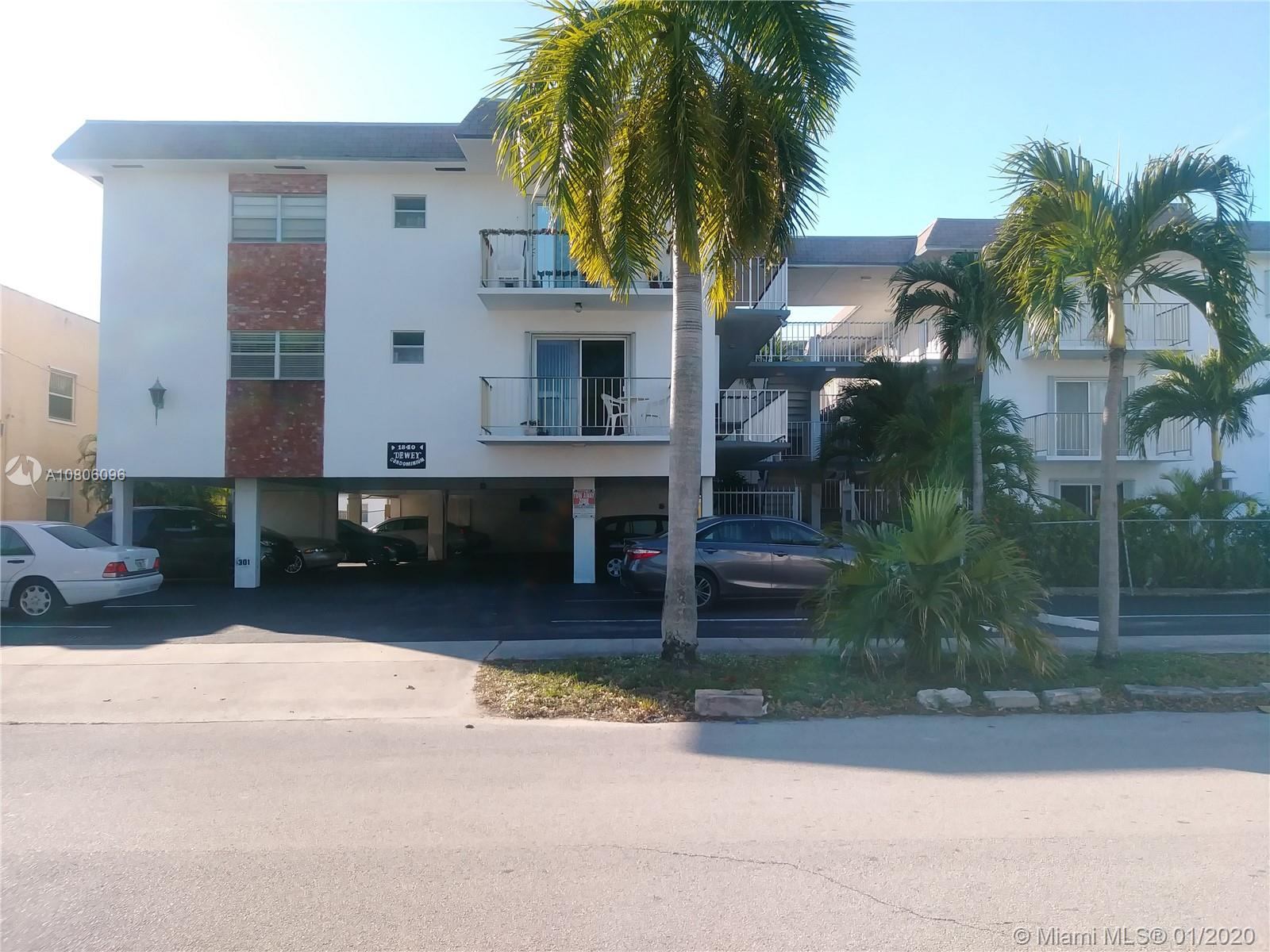 1840  Dewey St #205 For Sale A10806096, FL