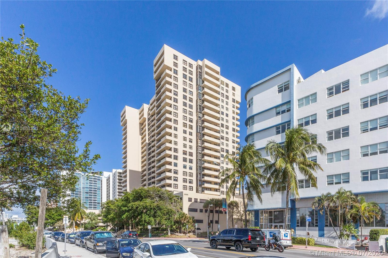 Just across Indian Creek and into the white sands of Miami Beach, you will find this jewel of an apartment. Spacious 2 bedroom/2 bathroom unit totally renovated and fashionably furnished. The kitchen is completely open, facing the living/dining area and the breathtaking views of Biscayne bay, the Miami skyline, and the beach through its high-impact sliding doors and windows. And also from its spacious wraparound balcony. Both bedrooms also provide the same enchanting views. Club Atlantis has the best location, within walking distance to virtually everything and everywhere. It is a full-service condo with concierge, valet parking and 24-hour security. The amenities include a party room, a social room, a gym, sauna, and pool area with party-ready gazebos. This is the place to be!
