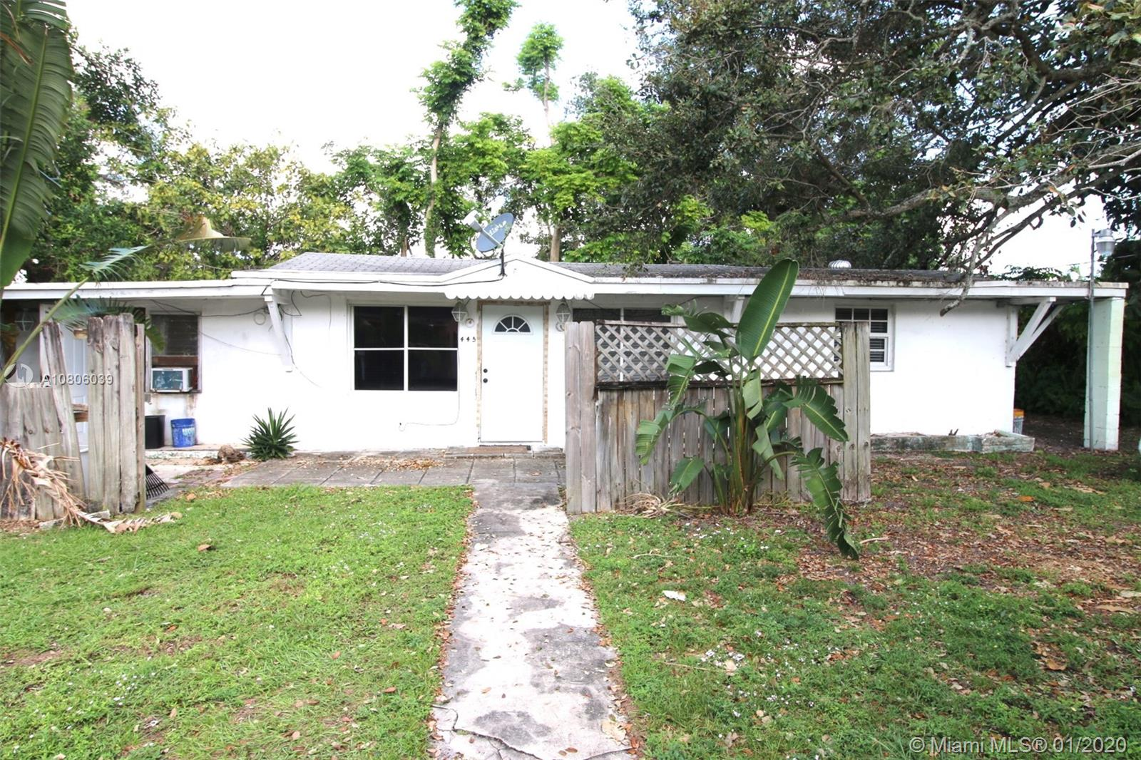 445 NE 165th St  For Sale A10806039, FL