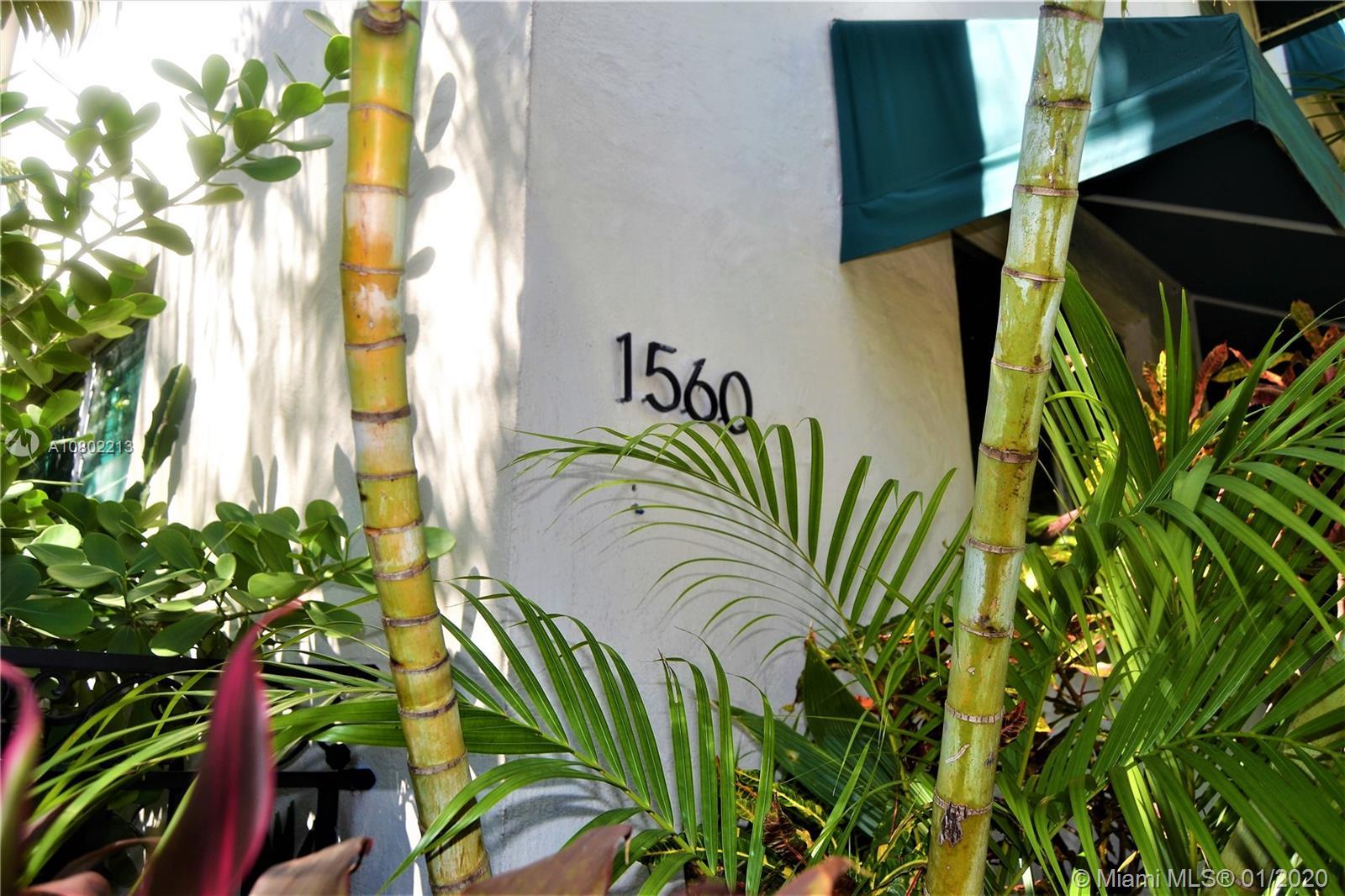 1560  Jefferson Ave #1 For Sale A10802213, FL