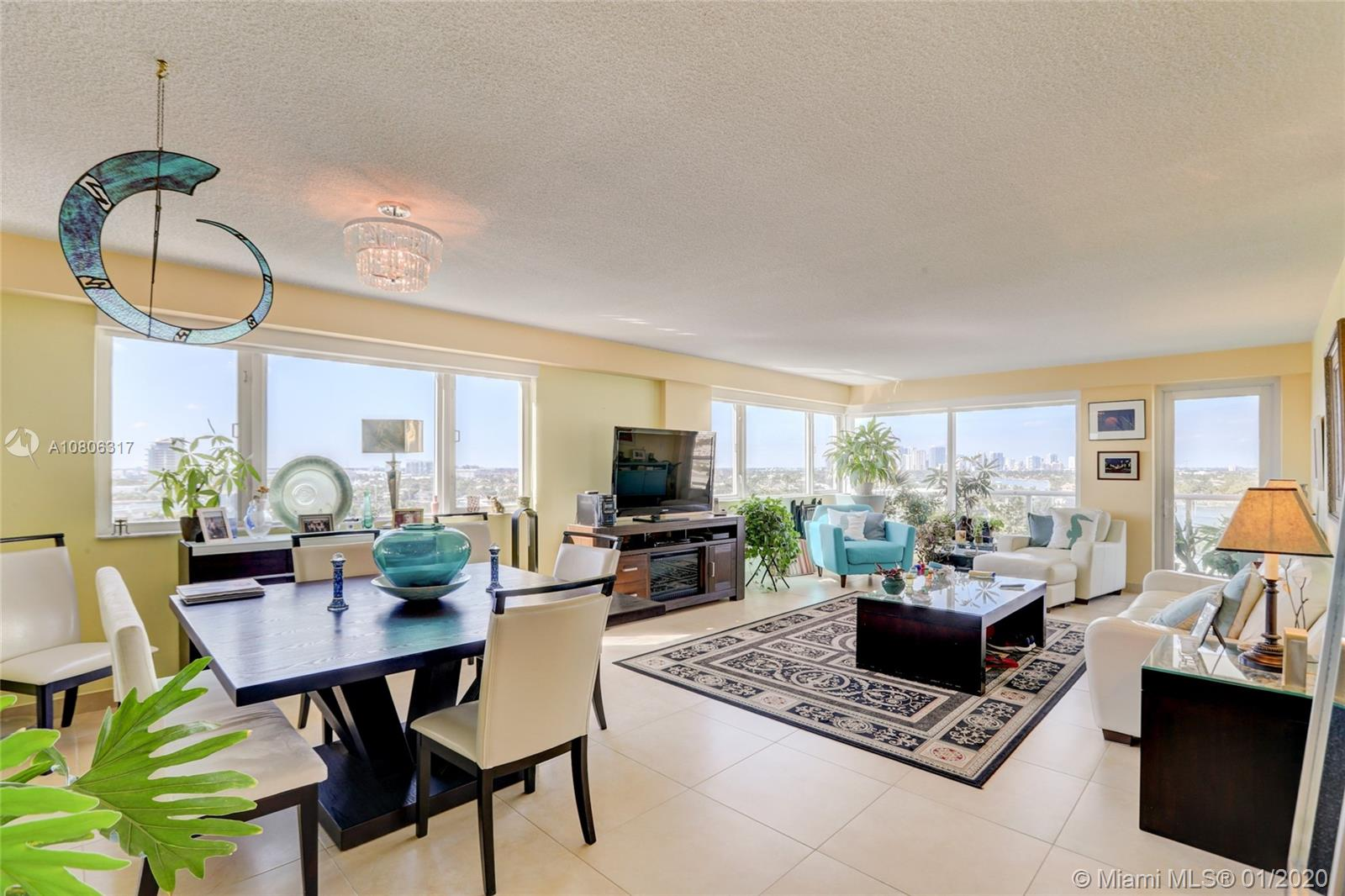 This is a luxury condo in the  Harbour Beach area, less than one block to Ft. Lauderdale Beach and the Marriot Hotel. The building is located in East Ft. Lauderdale on Lake Mayan. This unit has an open kitchen and private balcony. This large 2/2 unit is move-in ready, Newly remodeled bathrooms and kitchen.  with full size laundry. Panaramic intercoastal views throughout apartment. Includes on floor storage and one assigned covered parking spot. Second space available for a monthly fee.  Building has been renovated with new glass balconies, Impact windows and door. A large resort style community pool, common boat dock, gym, sauna, putting green and 24/7 security guard. Easy access to 595, I-95, US1 and Ft. Lauderdale Airport.