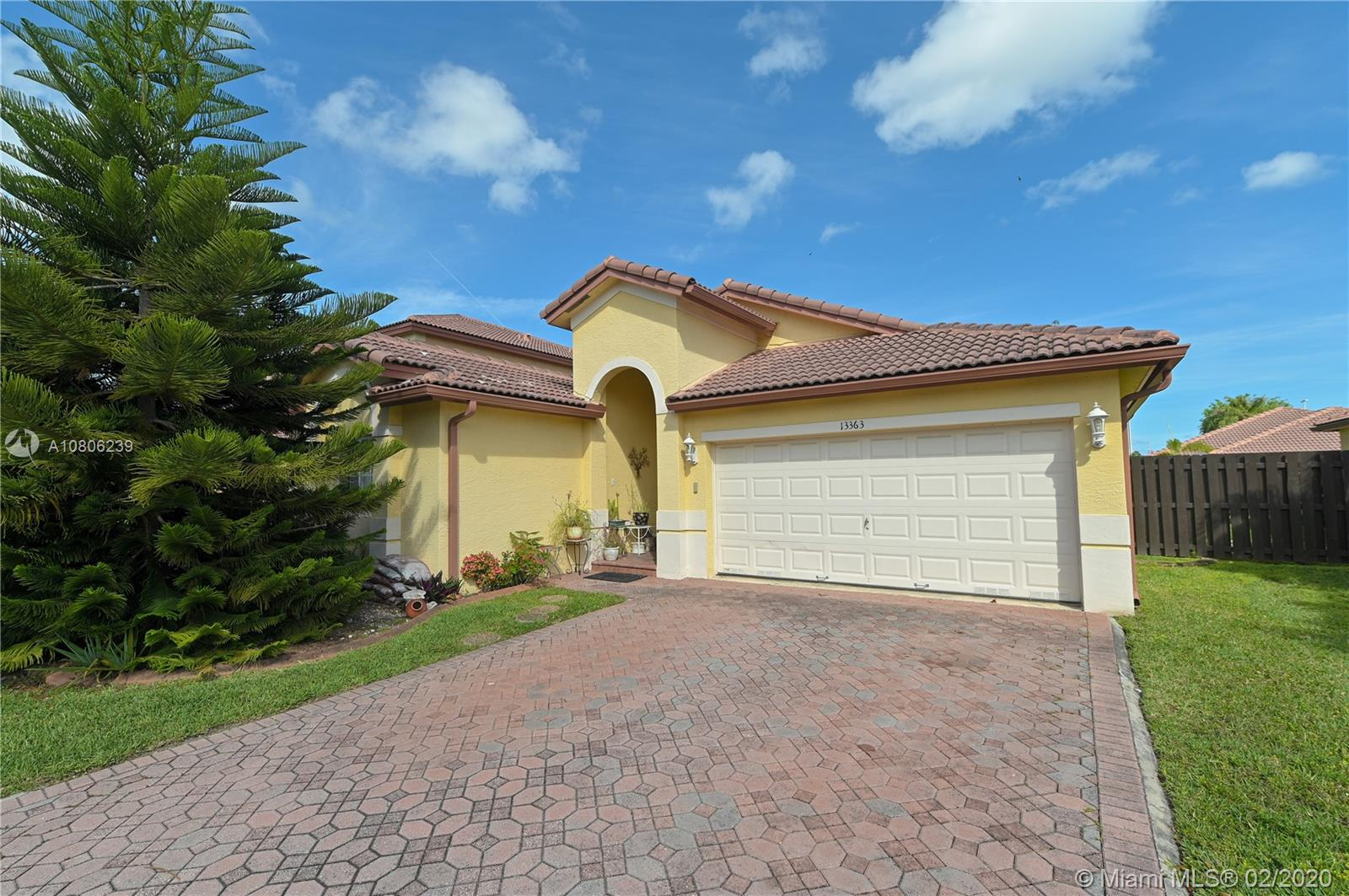 13363 SW 118th Pass  For Sale A10806239, FL