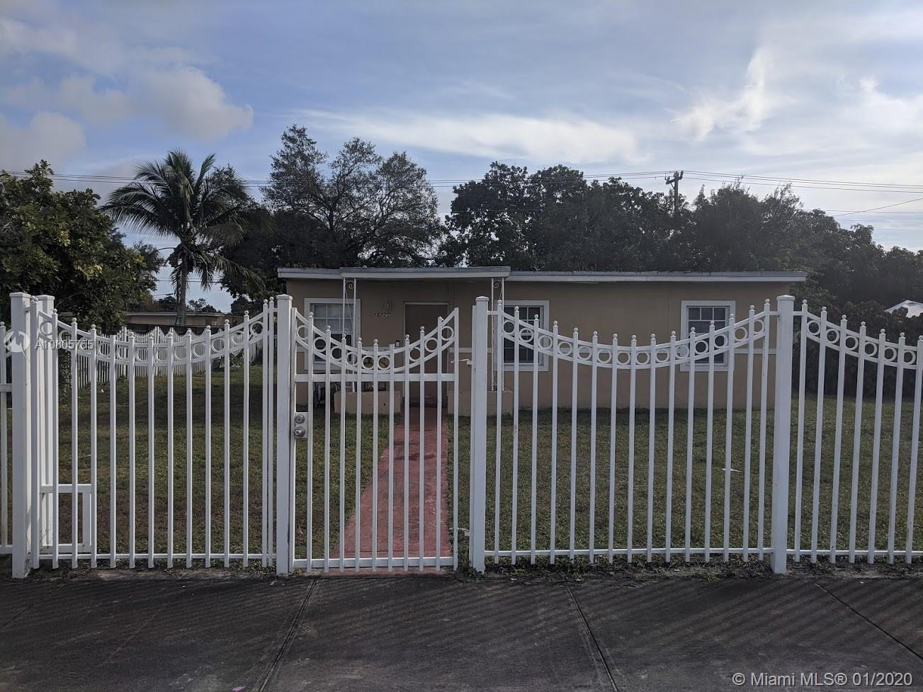 15725 NW 27th Ave  For Sale A10805755, FL
