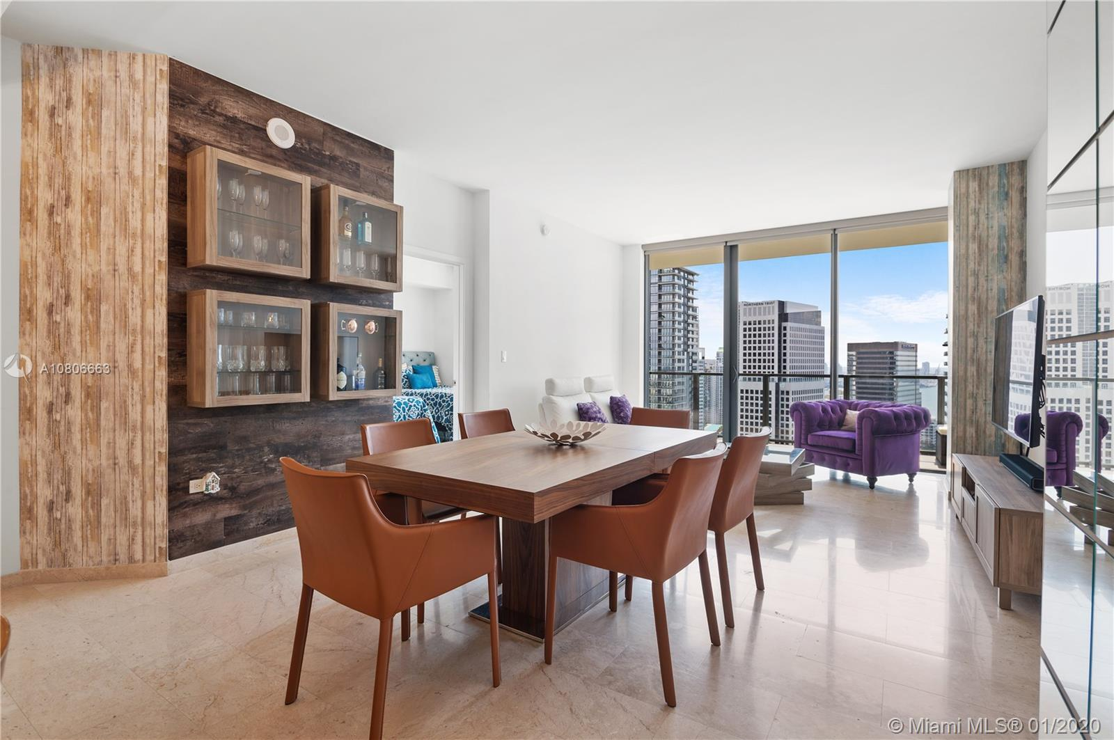 88 SW 7th St #3405 For Sale A10806663, FL