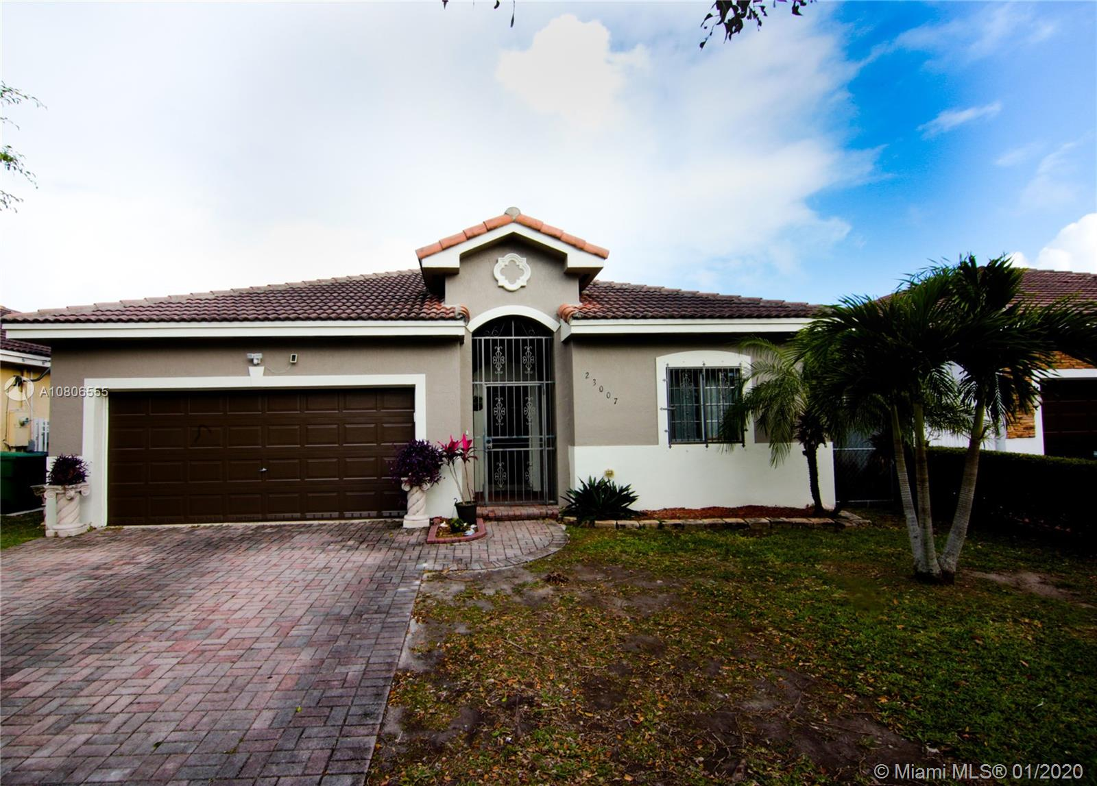 23007 SW 109th Ave  For Sale A10806555, FL