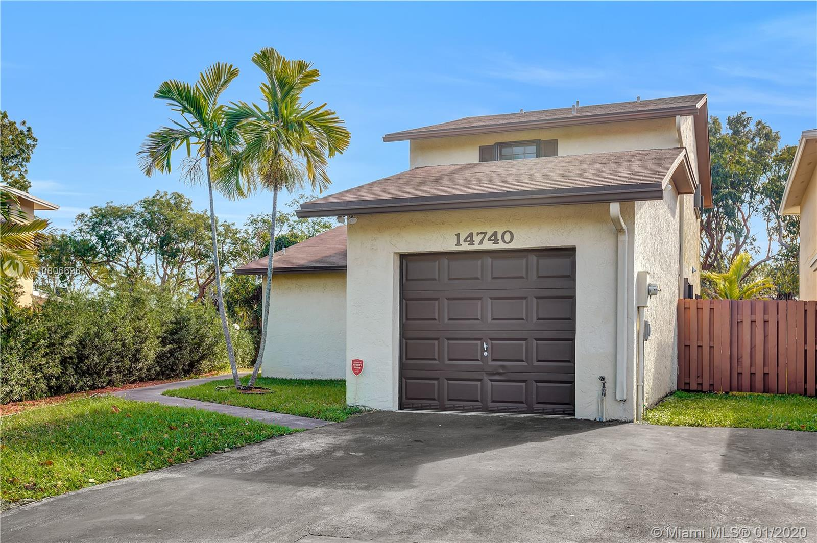 14740 SW 108th Ter  For Sale A10806696, FL