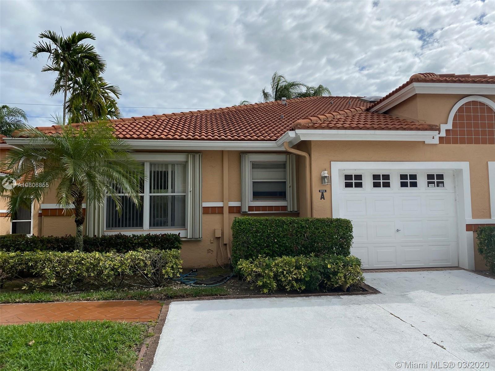 9856 Summerbrook Ter A, Boynton Beach, FL 33437