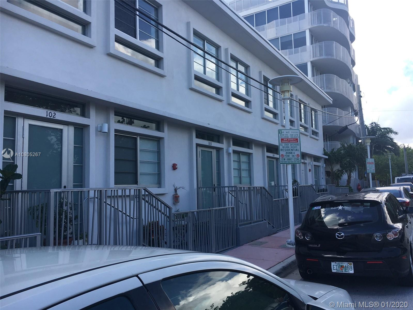 2160  Park Ave #102 For Sale A10805267, FL