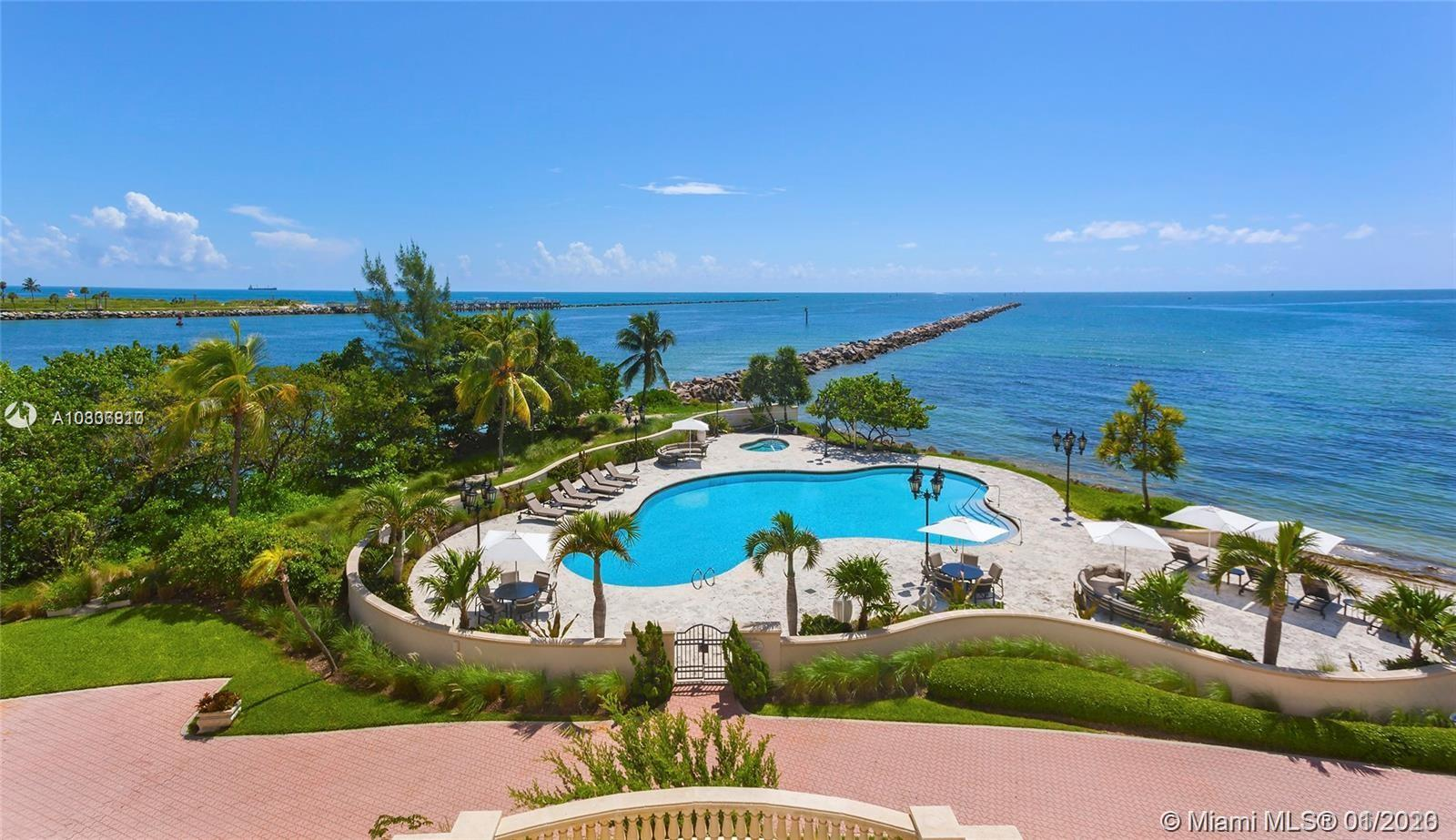 7233  Fisher Island Dr #7233 For Sale A10806810, FL