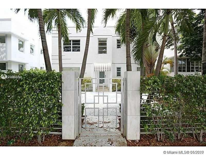 """The building """"First On Jefferson"""" is located in one of the most charming and peaceful area of the South Beach Deco District. GORGEOUSLY REMODELED STUDIO W/ SHARP LIGHT-TONED MARBLE FLOORING AND BATHROOM. BRIGHT AND AIRY. BACK CORNER UNIT. Stainless Steel Appliances, . AMAZING location Next to FLAMINGO PARK and walking distance to the beach! MUST SEE!!! Note: Unit comes unfurnished*Pictures are from the previous occupancy"""