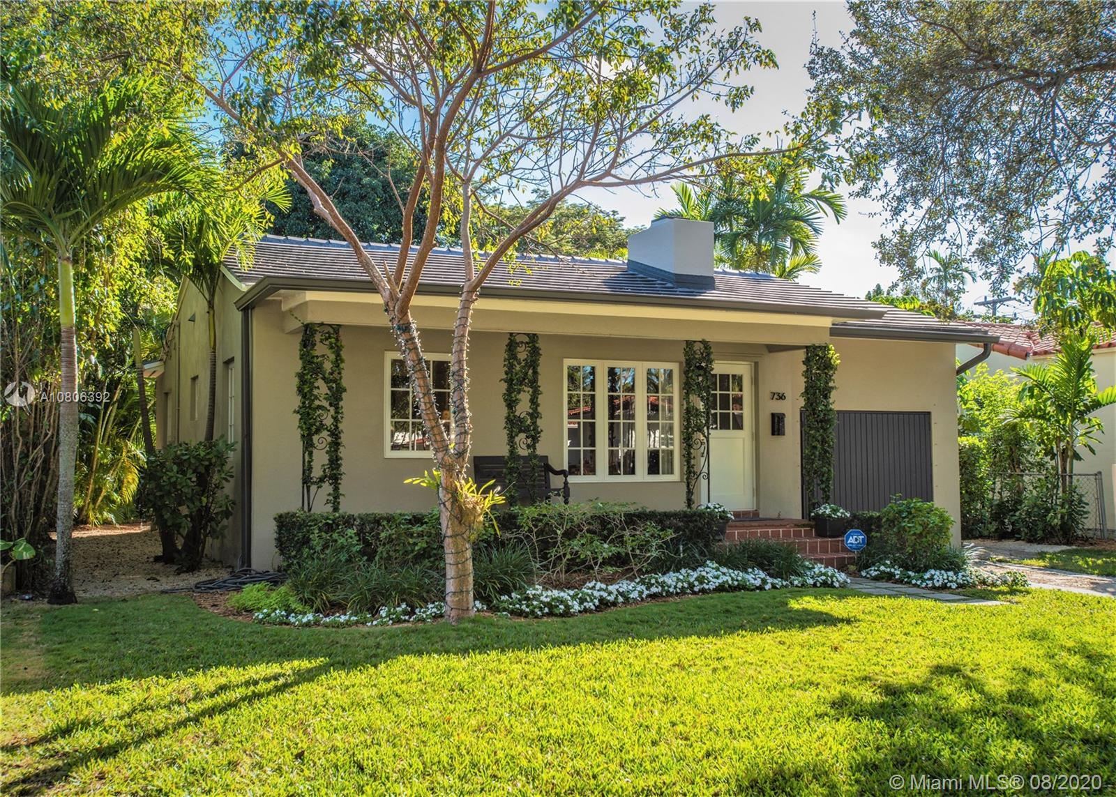 736  Madeira Ave  For Sale A10806392, FL
