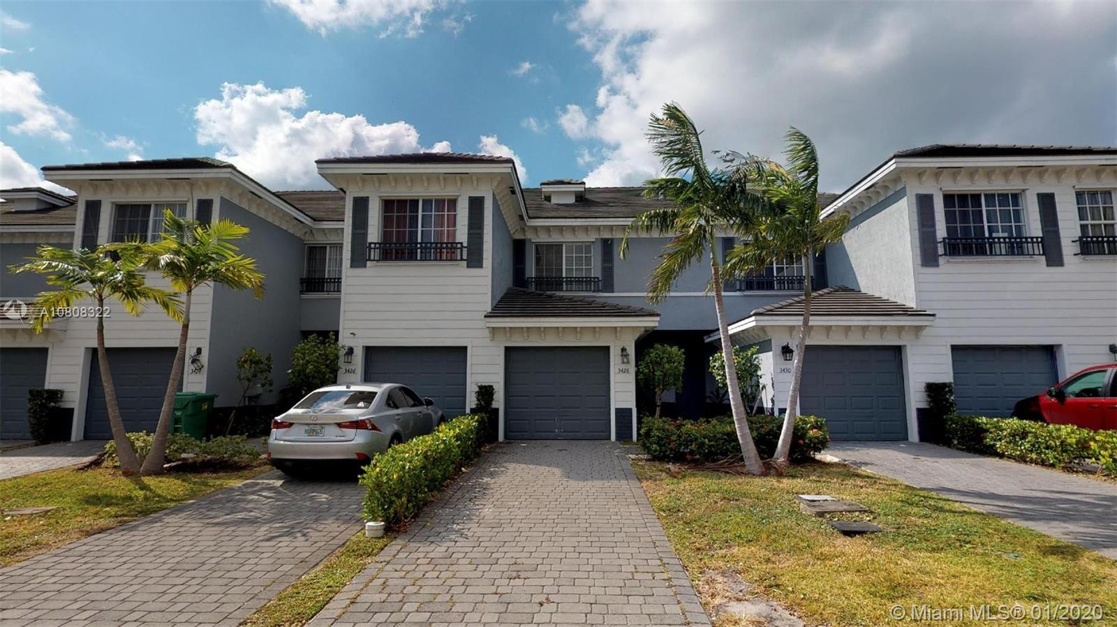 PROPERTY 2 BED /2.5 BATH TOWNHOUSE , MINUTES FROM SAWGRASS MALLl, FORT LAUDERDALE BEACH. AMENITIES INCLUDING A SWIMMING POOL , MEETING ROOMS, CHILDREN´S PLAYGROUND. GREAT OPPORTUNITY .